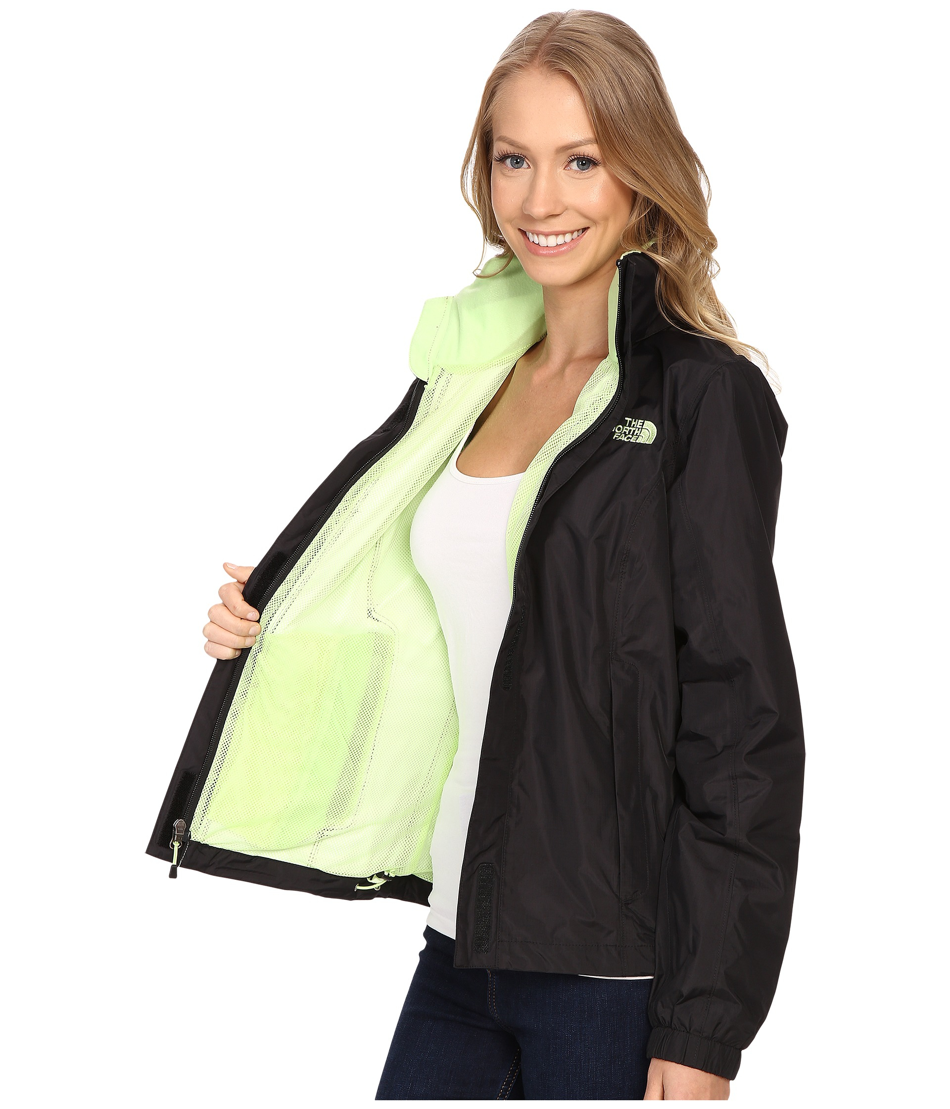 6f0bd5a7c0e The North Face Resolve Jacket in Black - Lyst