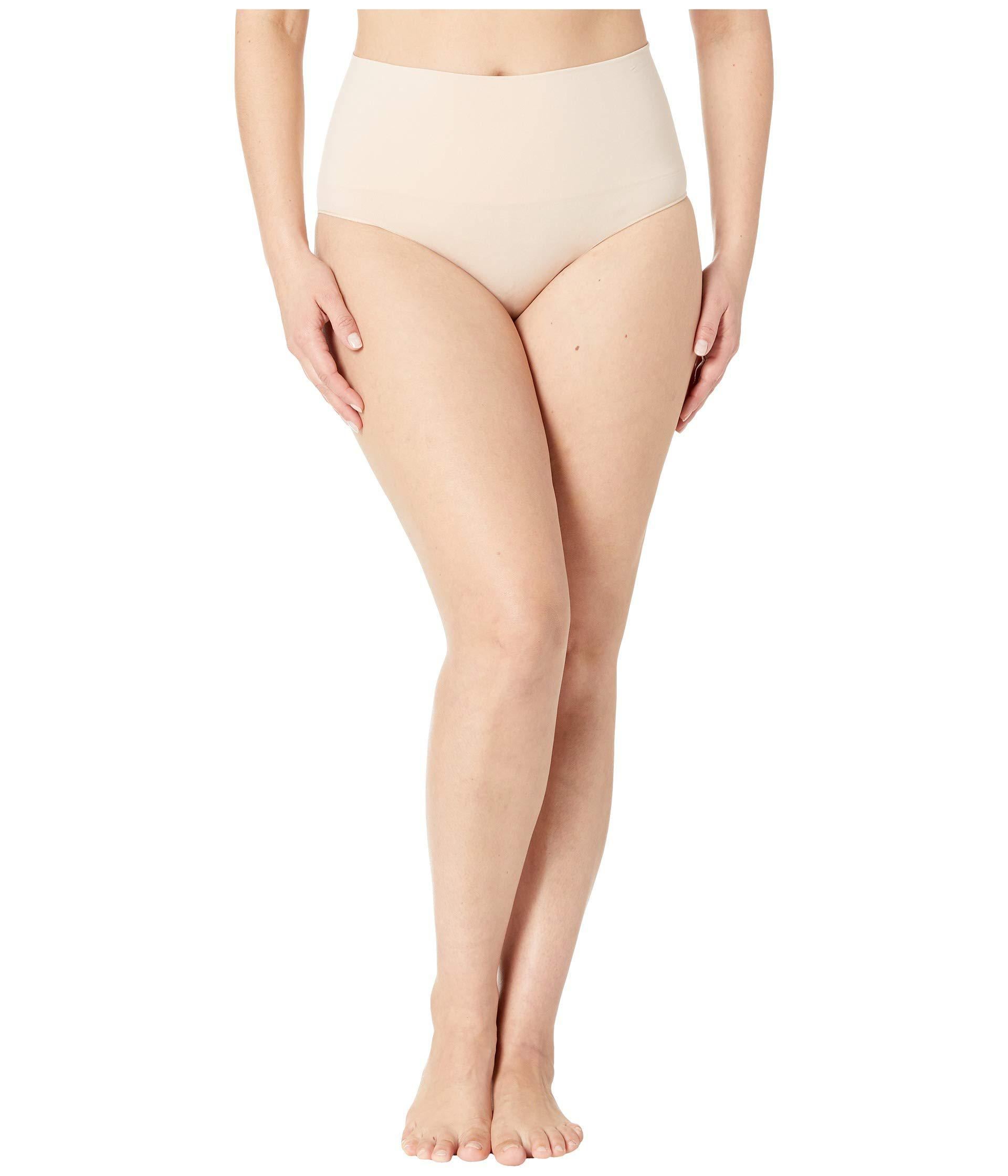 30d2a7e414f Spanx. Natural Plus Size Everyday Shaping Brief (black) Women s Underwear
