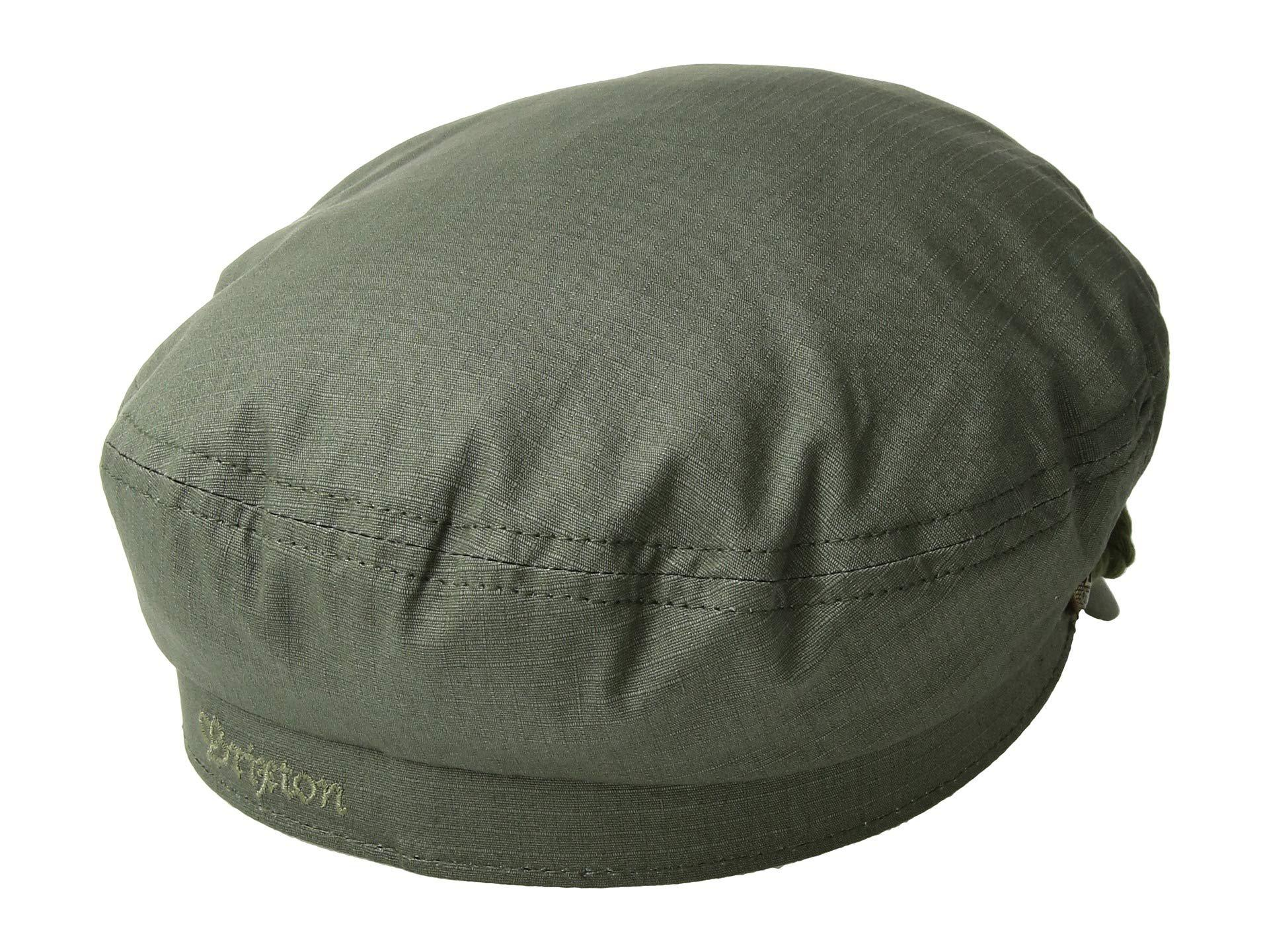 Brixton - Green Fiddler (black Herringbone Twill) Traditional Hats for Men  - Lyst. View fullscreen 4673c8d93d84