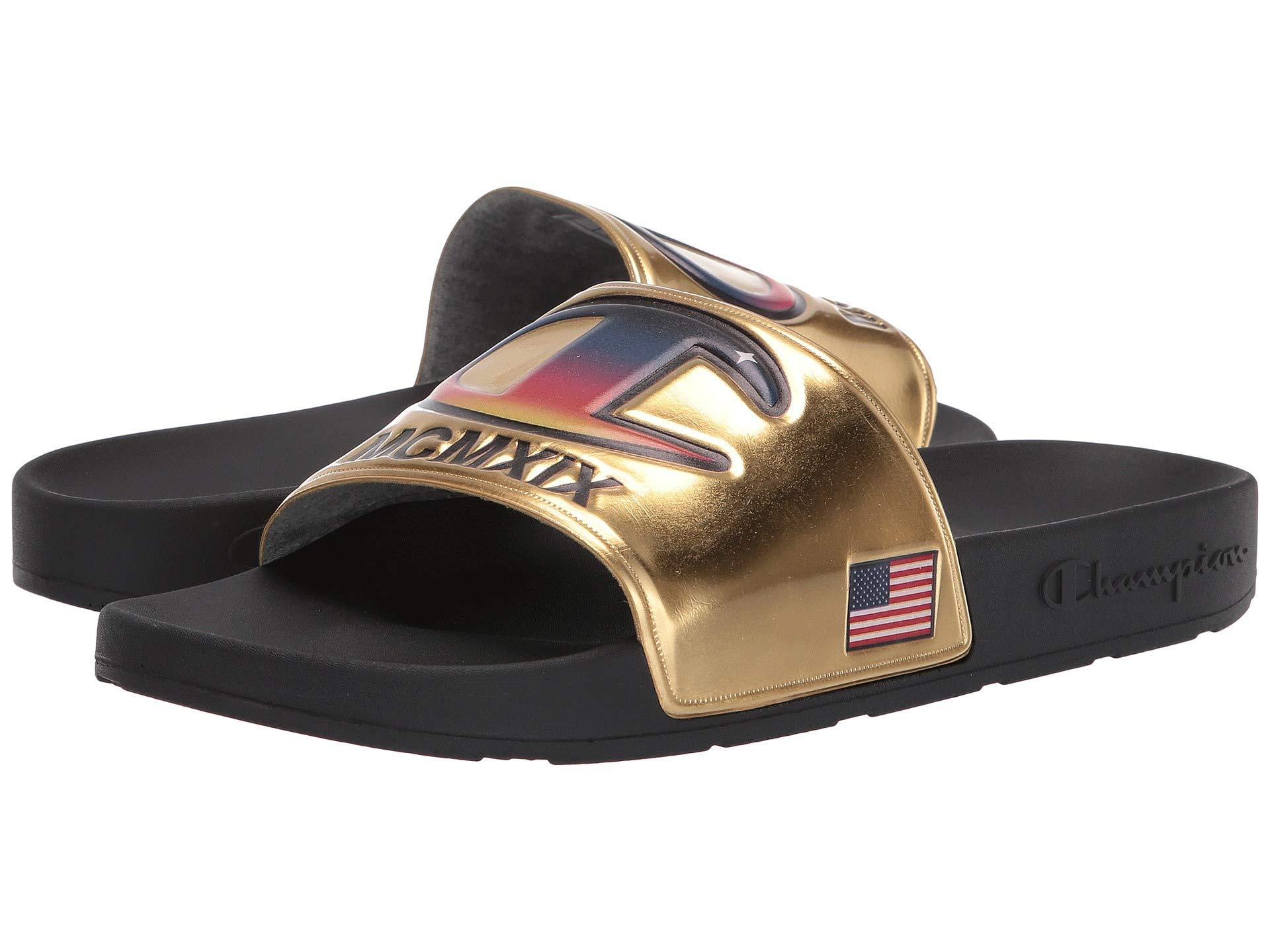 62604cd08e89 Lyst - Champion Ipo (navy navy) Men s Slide Shoes in Metallic for ...