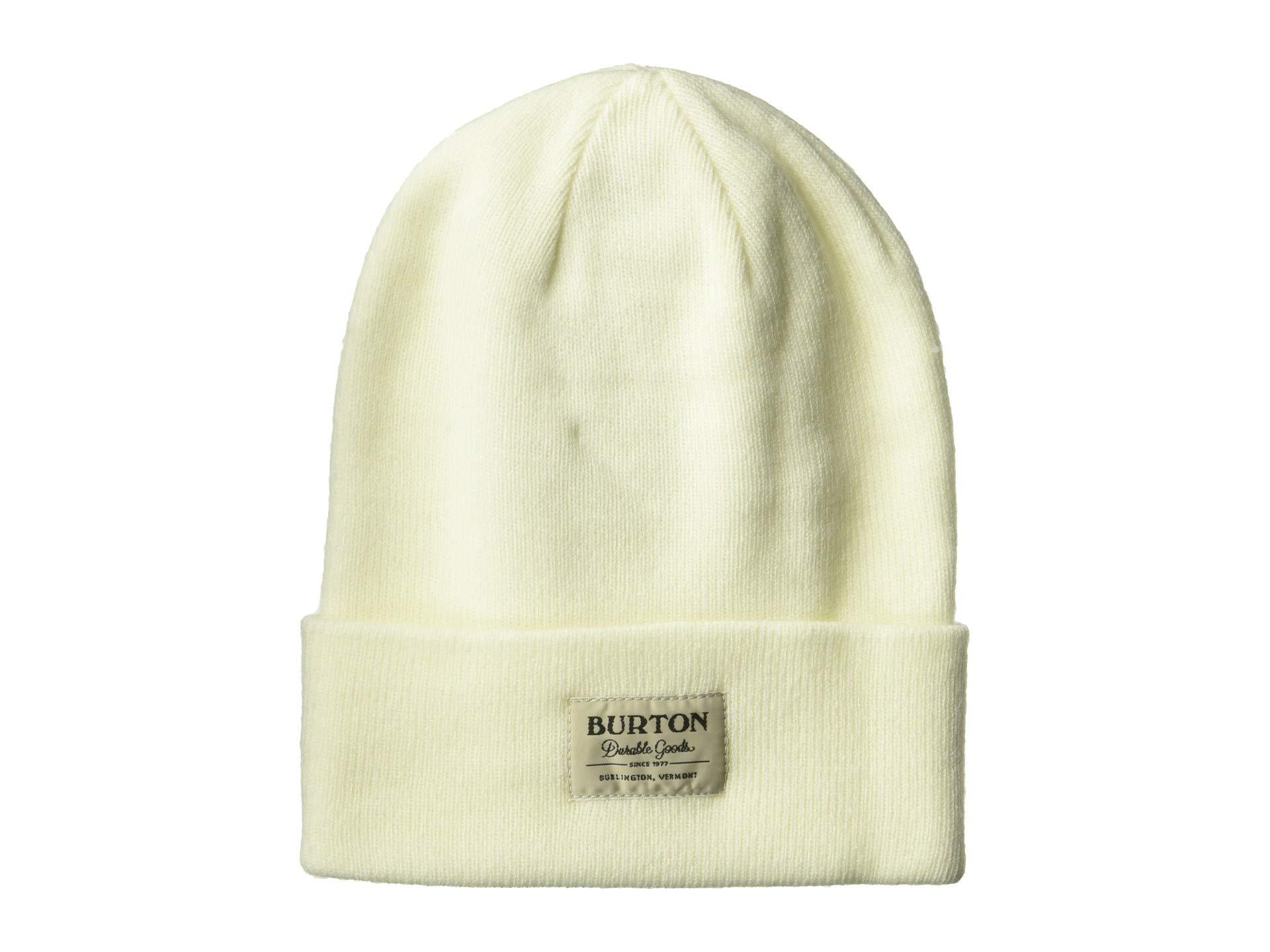 42b3f3c1d14 Lyst - Burton Kactusbunch Tall Beanie (abyss) Beanies in White for Men