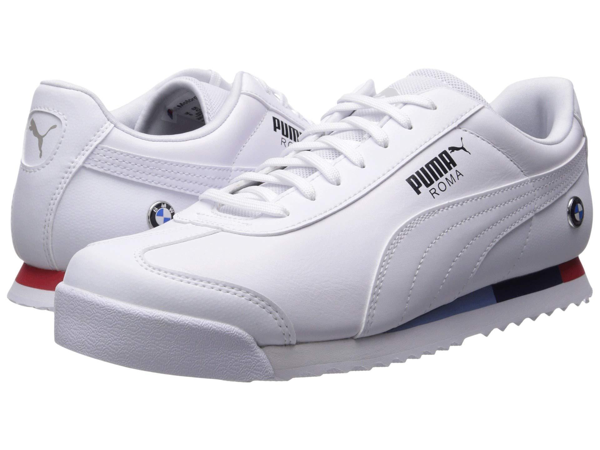 512a3126e PUMA Bmw Mms Roma ( White/ White) Men's Shoes in White for Men - Lyst