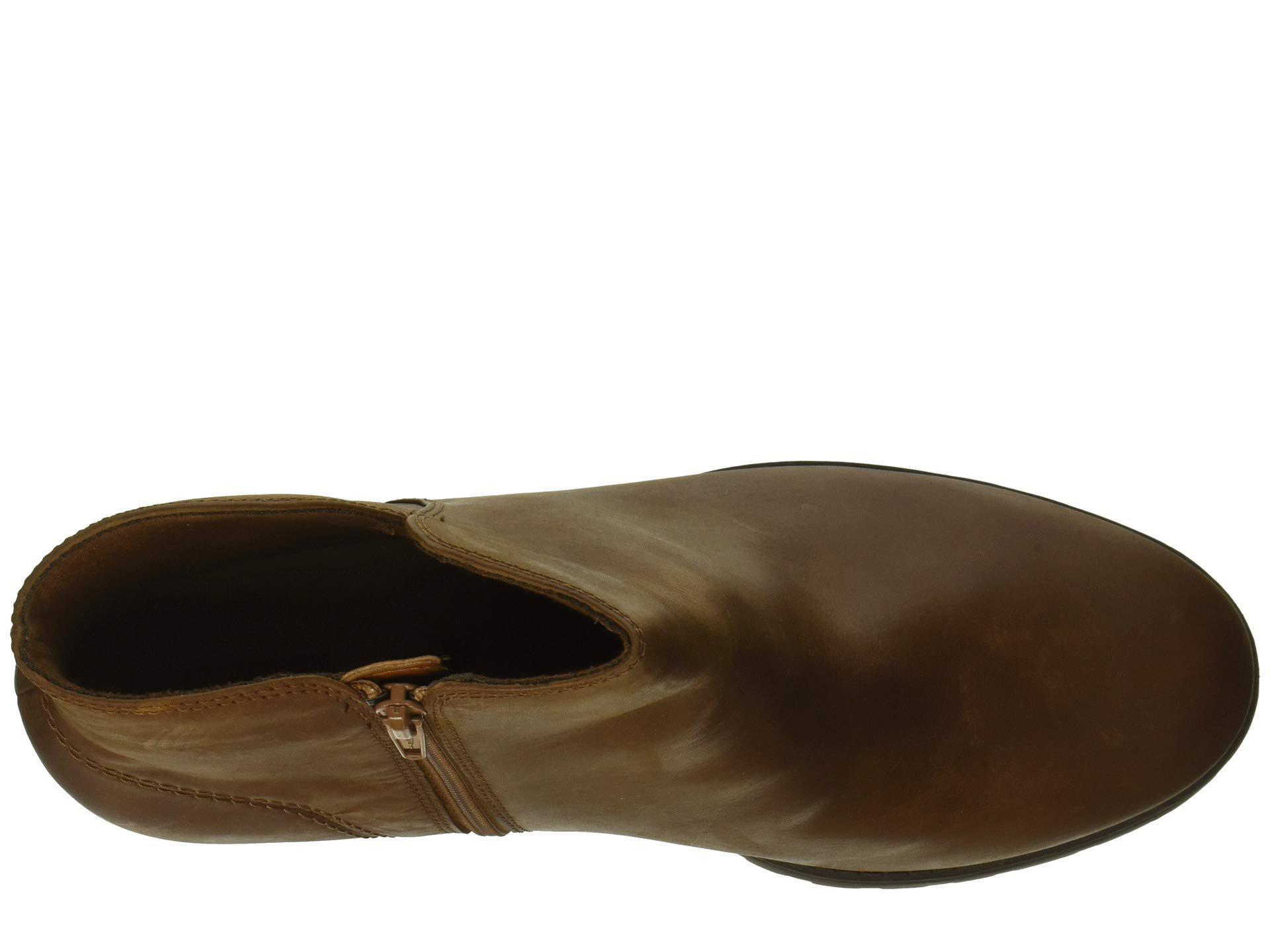 4ac44cb3 Clarks - Brown Verona Trish (dark Tan Leather) Women's Shoes - Lyst