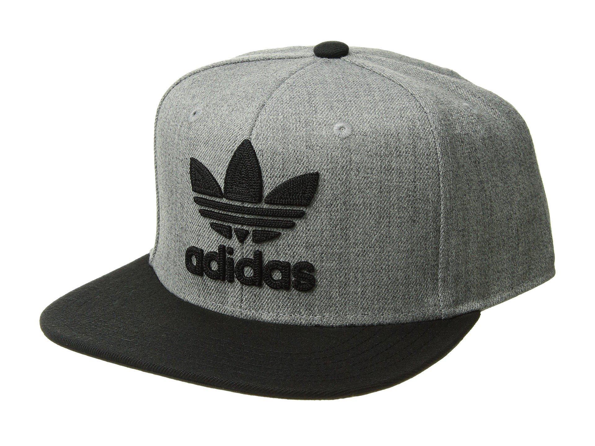 6e273364eab Lyst - adidas Originals Originals Trefoil Chain Snapback Cap (black ...