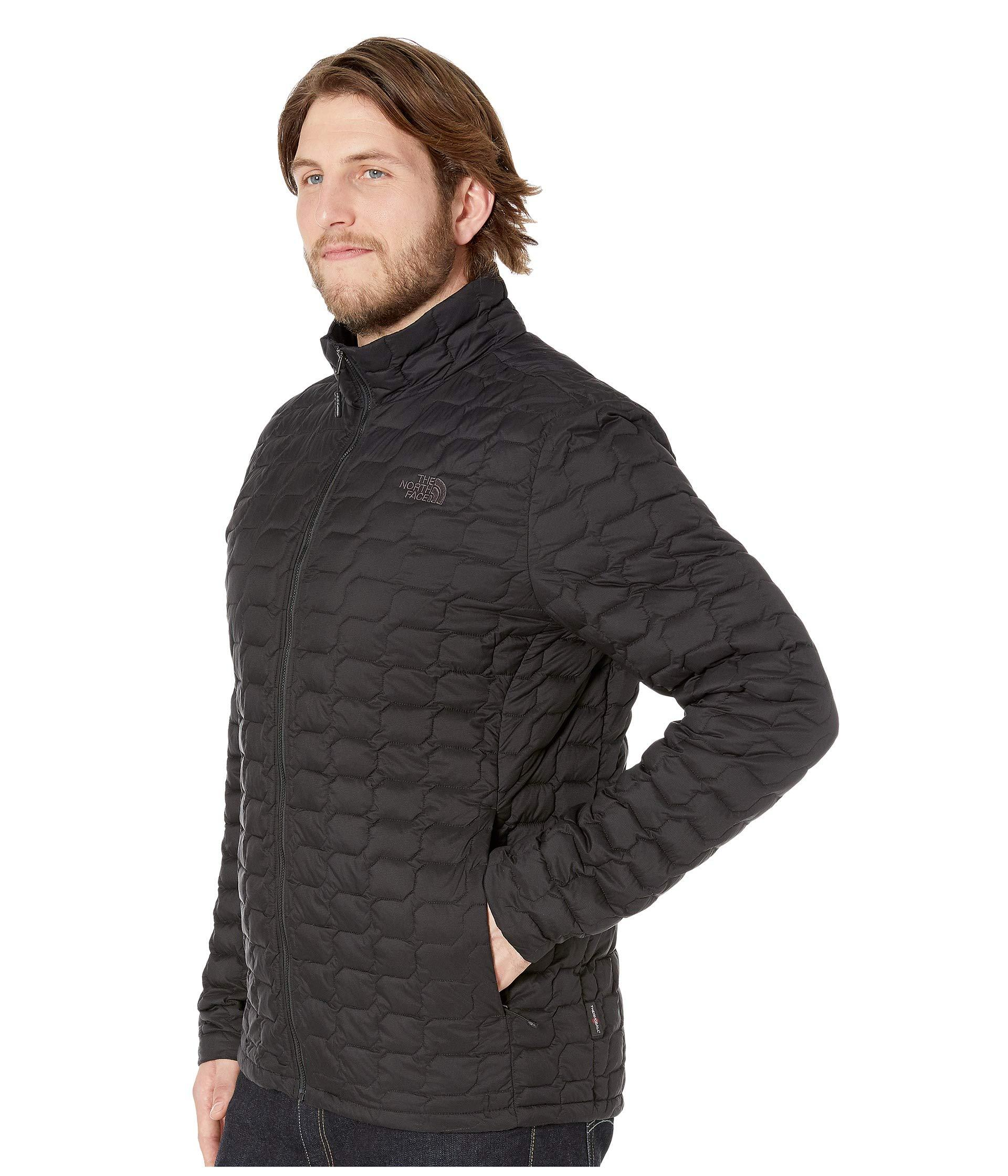 Lyst - The North Face Thermoball Jacket - Tall (urban Navy Matte mid Grey)  Men s Coat in Black for Men 71e10cefa