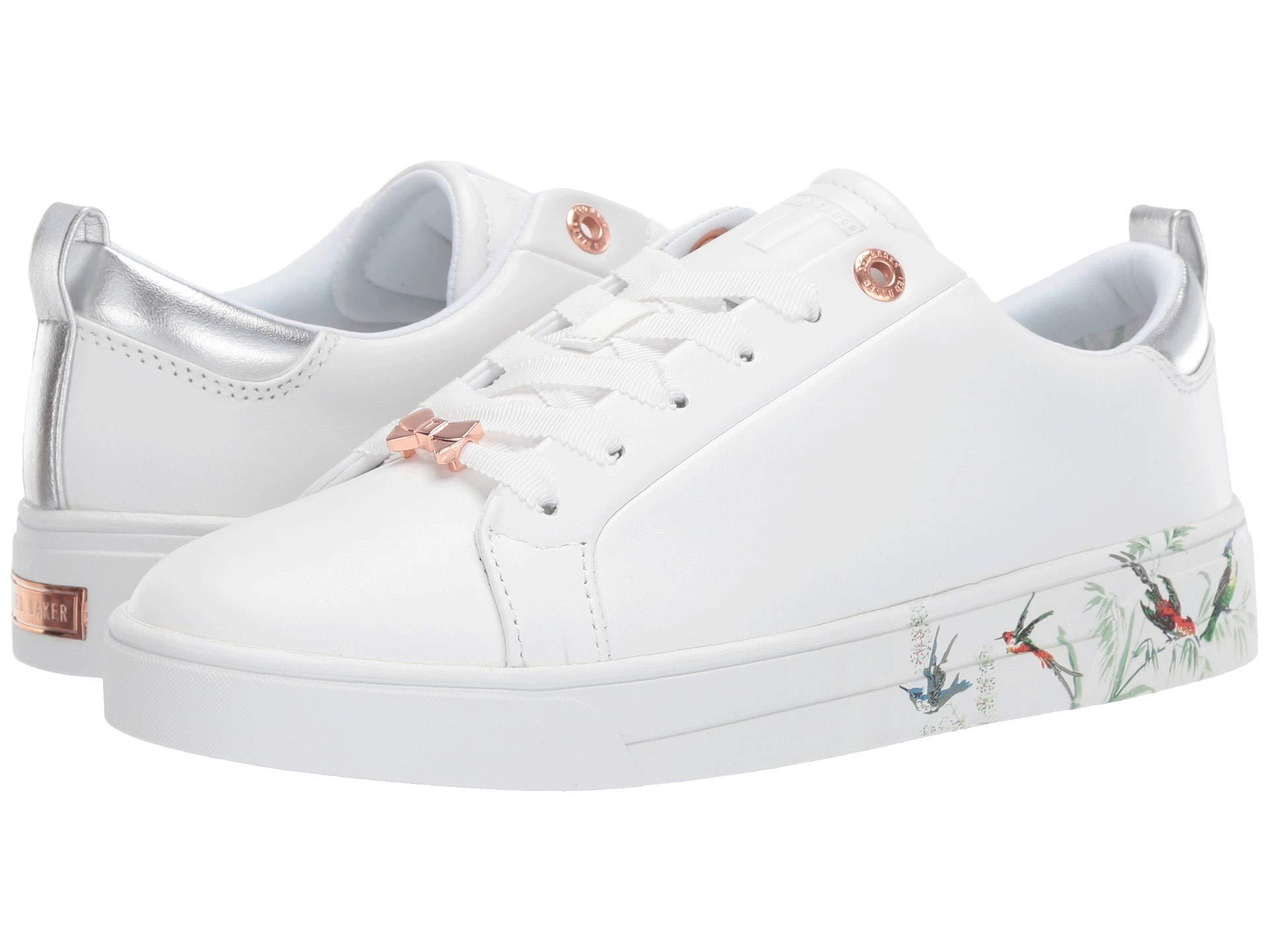 2fedb665c Lyst - Ted Baker Roully (white Fortune) Women s Shoes in White