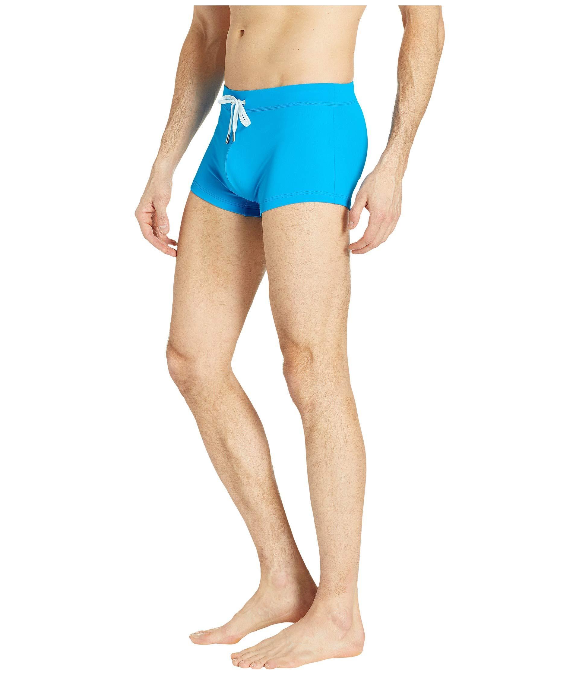 88e266cf8a Lyst - 2xist 2(x)ist Essential Cabo (black) Men's Swimwear in Blue for Men