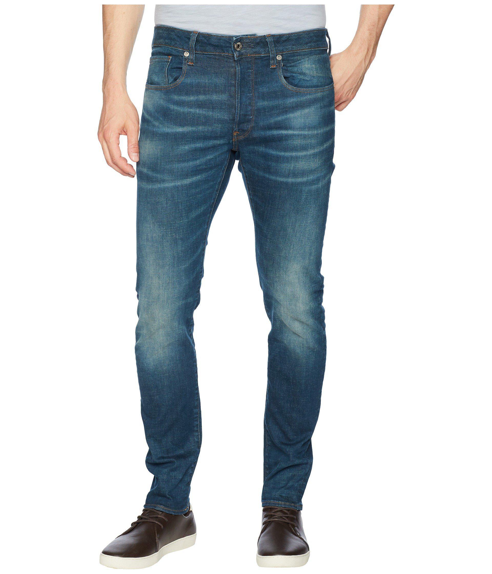 Beln Lyst Star Slim G 3301 Medium Aged In Jeans Raw Stretch Denim fw4fPqxF