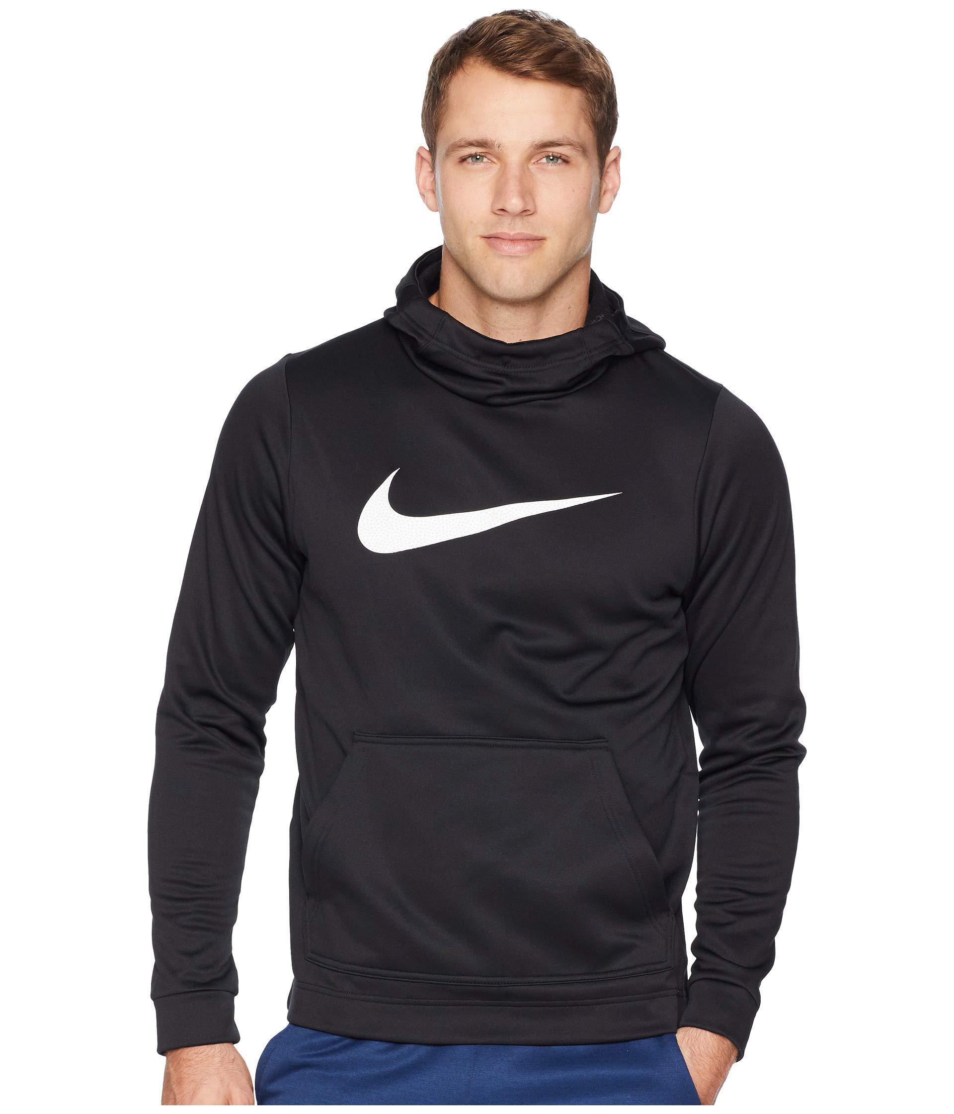 d65559b98d67 Lyst - Nike Therma Hybrid Pullover Hoodie (black white) Men s ...