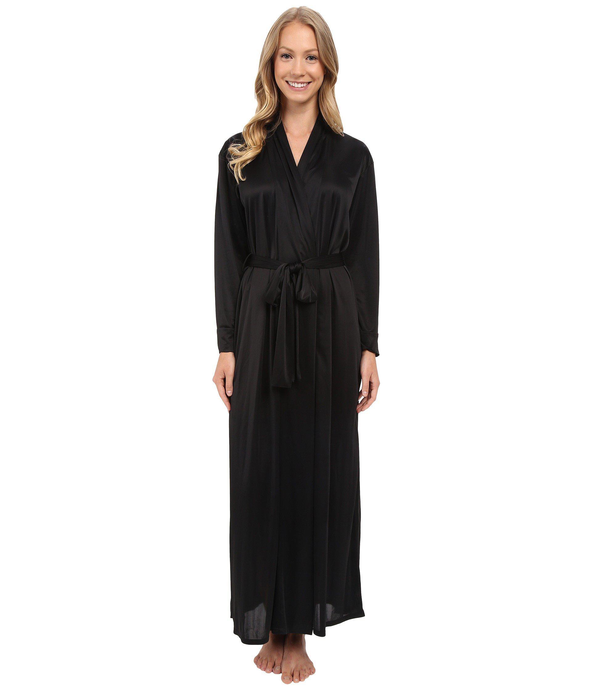 Lyst - Natori Aphrodite Robe (black) Women s Robe in Black 05db41778