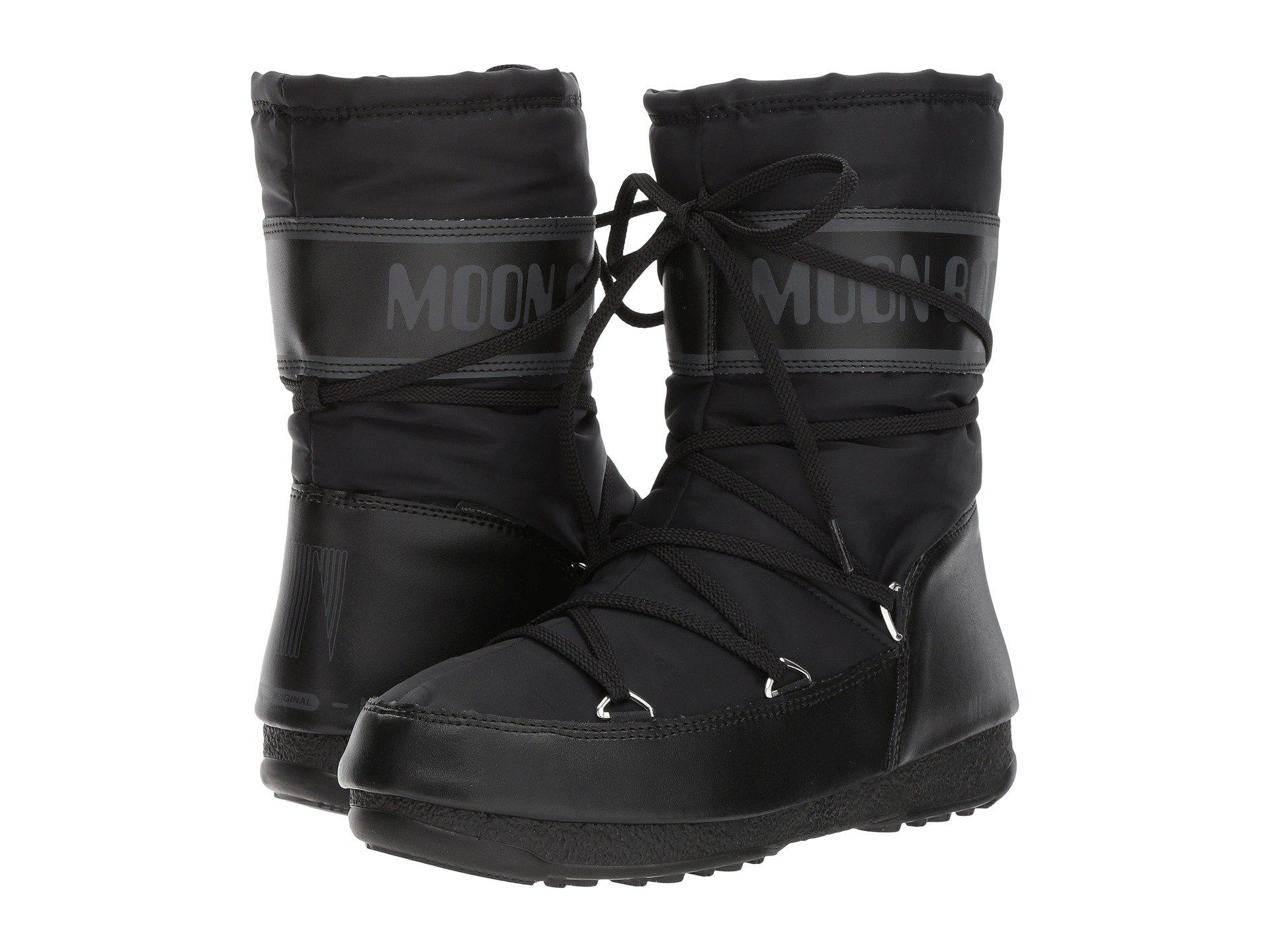 Soft Moon Black Bottes Boot Wp Mid Shade ECqfw1C