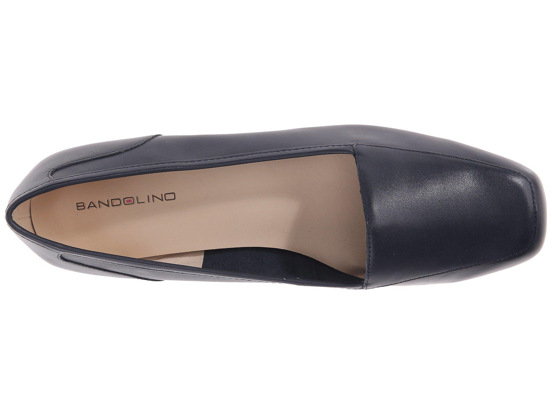 bfcff9bc91 Bandolino - Blue Liberty (black Leather) Women s Slip On Shoes - Lyst. View  fullscreen
