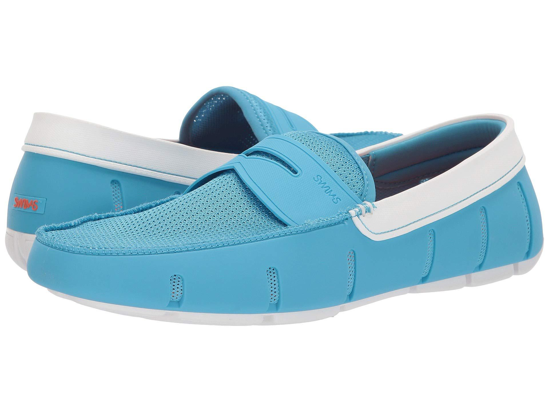 c1fa72bbfab Lyst - Swims Penny Loafer (norse Blue white) Men s Shoes in Blue for Men