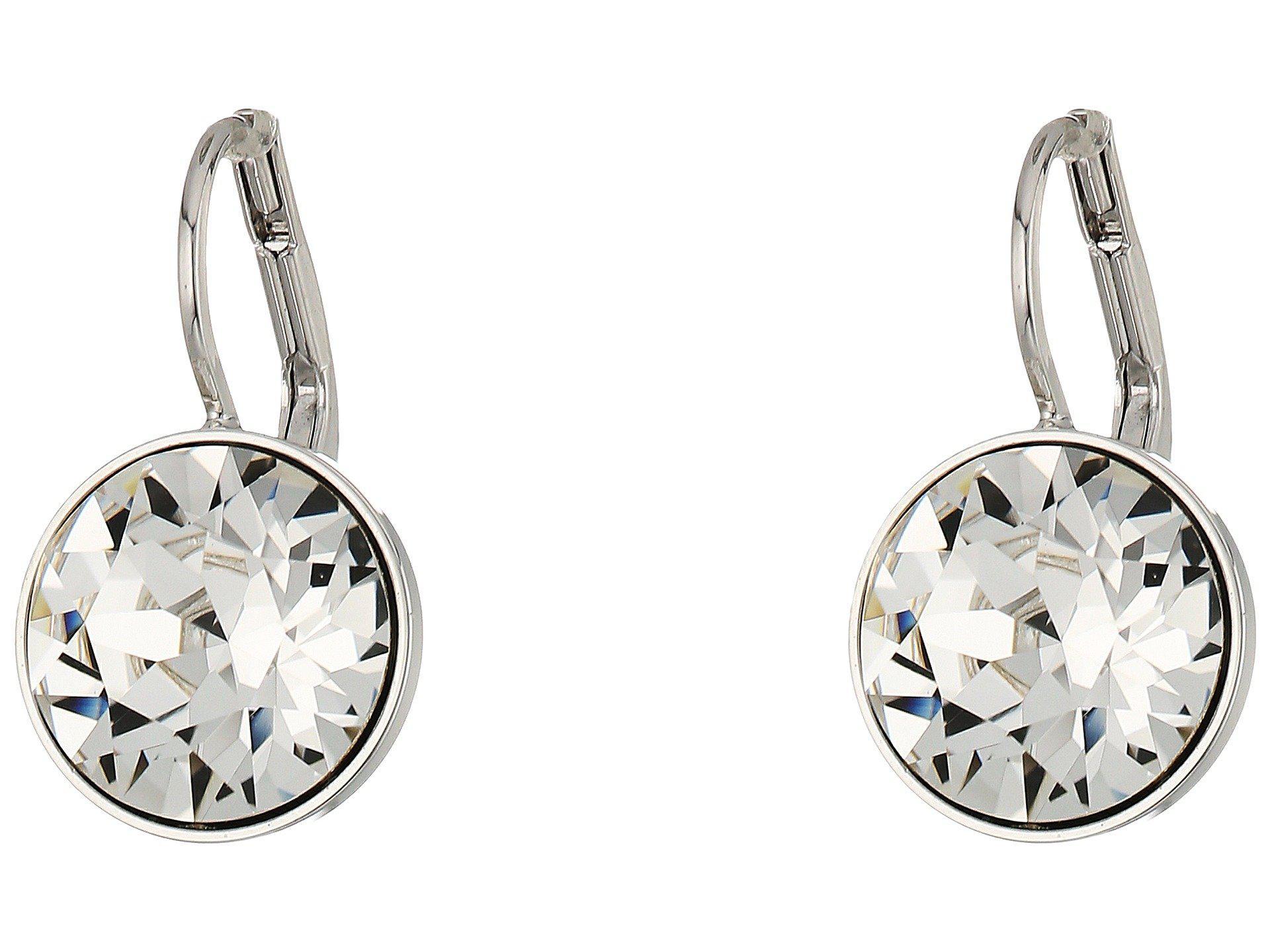 Swarovski Women S Bella Pierced Earrings