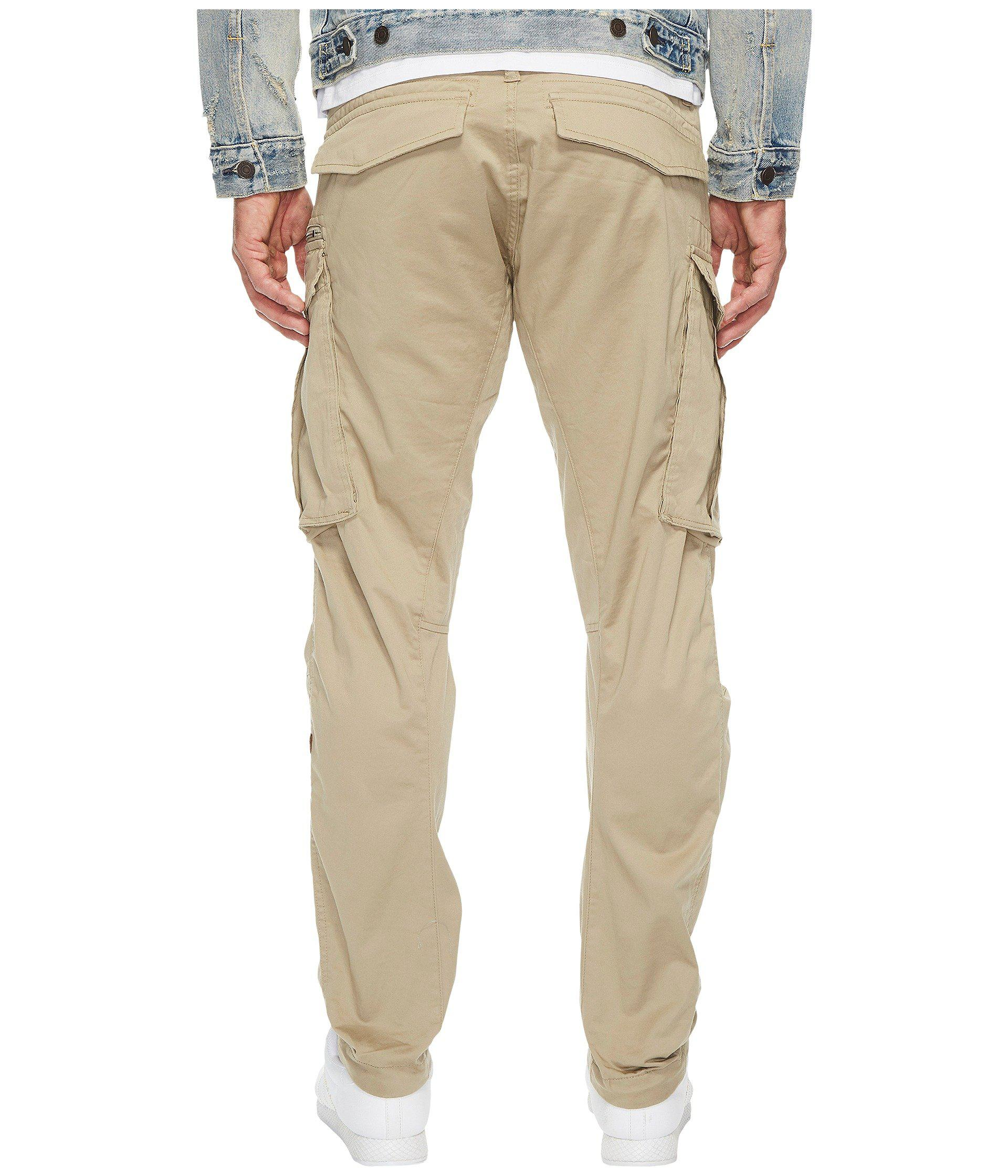 95ff600335f G-Star RAW Rovic Zip 3d Tapered Fit Pants In Premium Micro Stretch ...