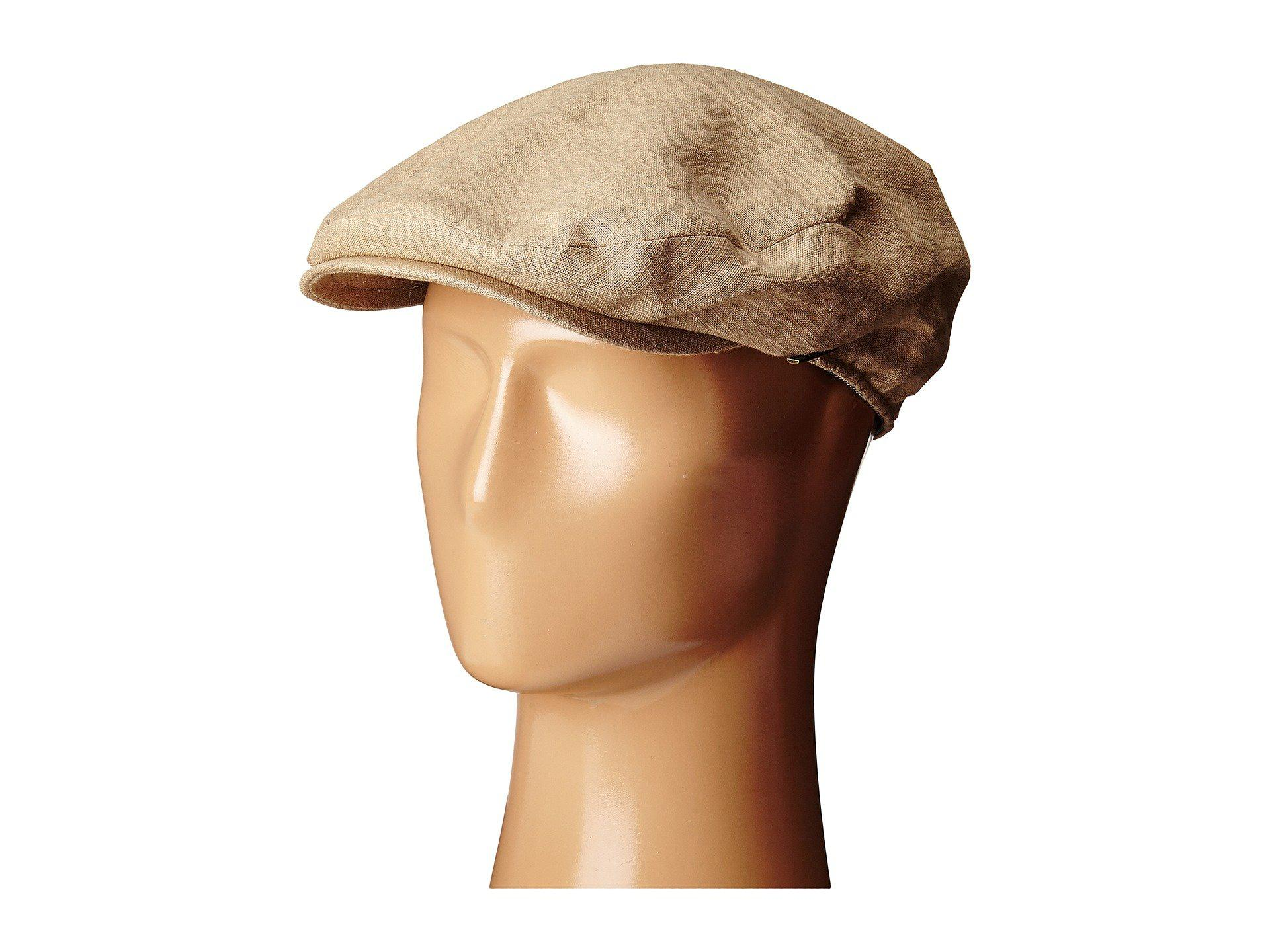5e8b81661f0 Lyst - Stetson Linen Ivy Cap (khaki) Caps in Natural for Men