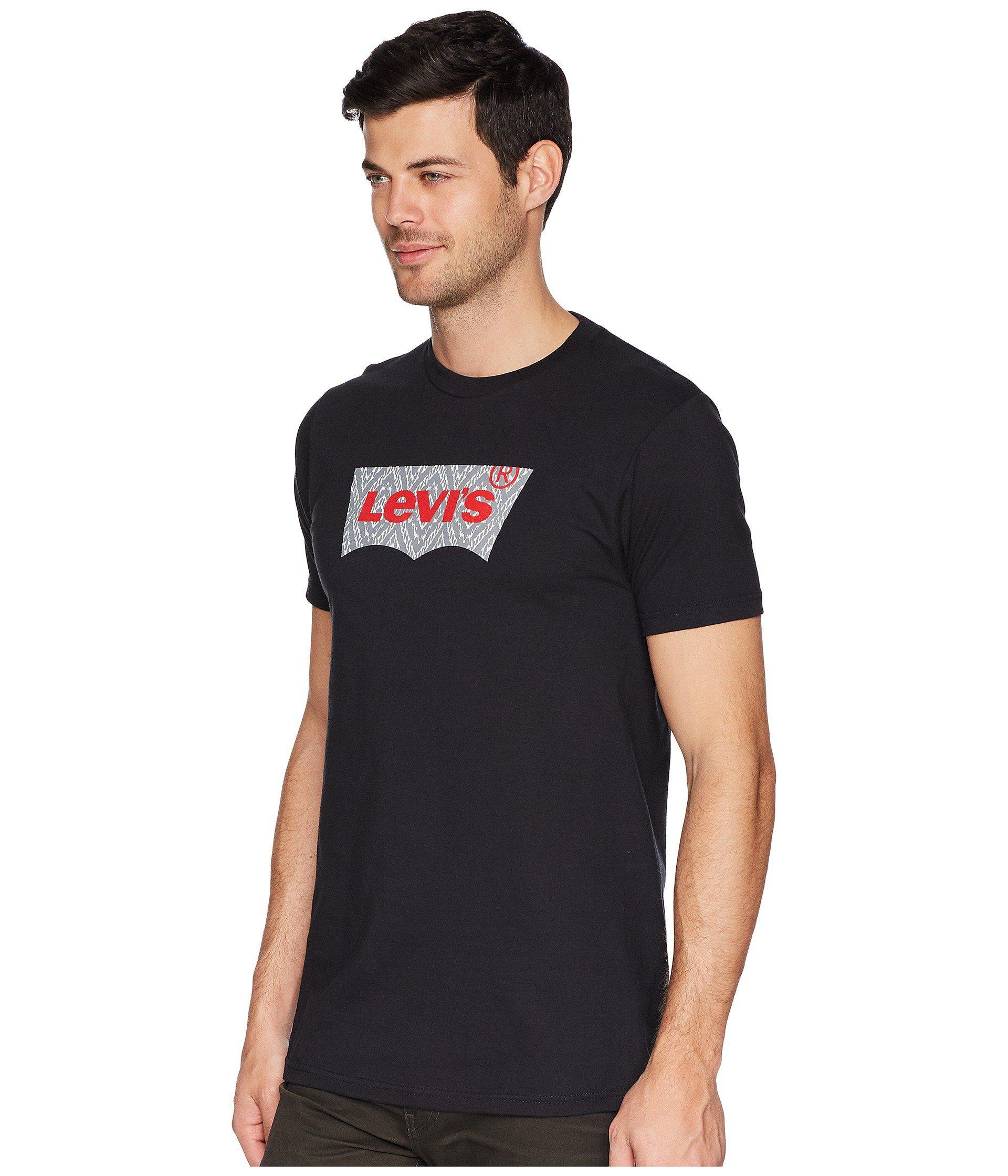 1eae06388 Lyst - Levi's Levi's(r) Ikat T-shirt (black) Men's T Shirt in Black ...