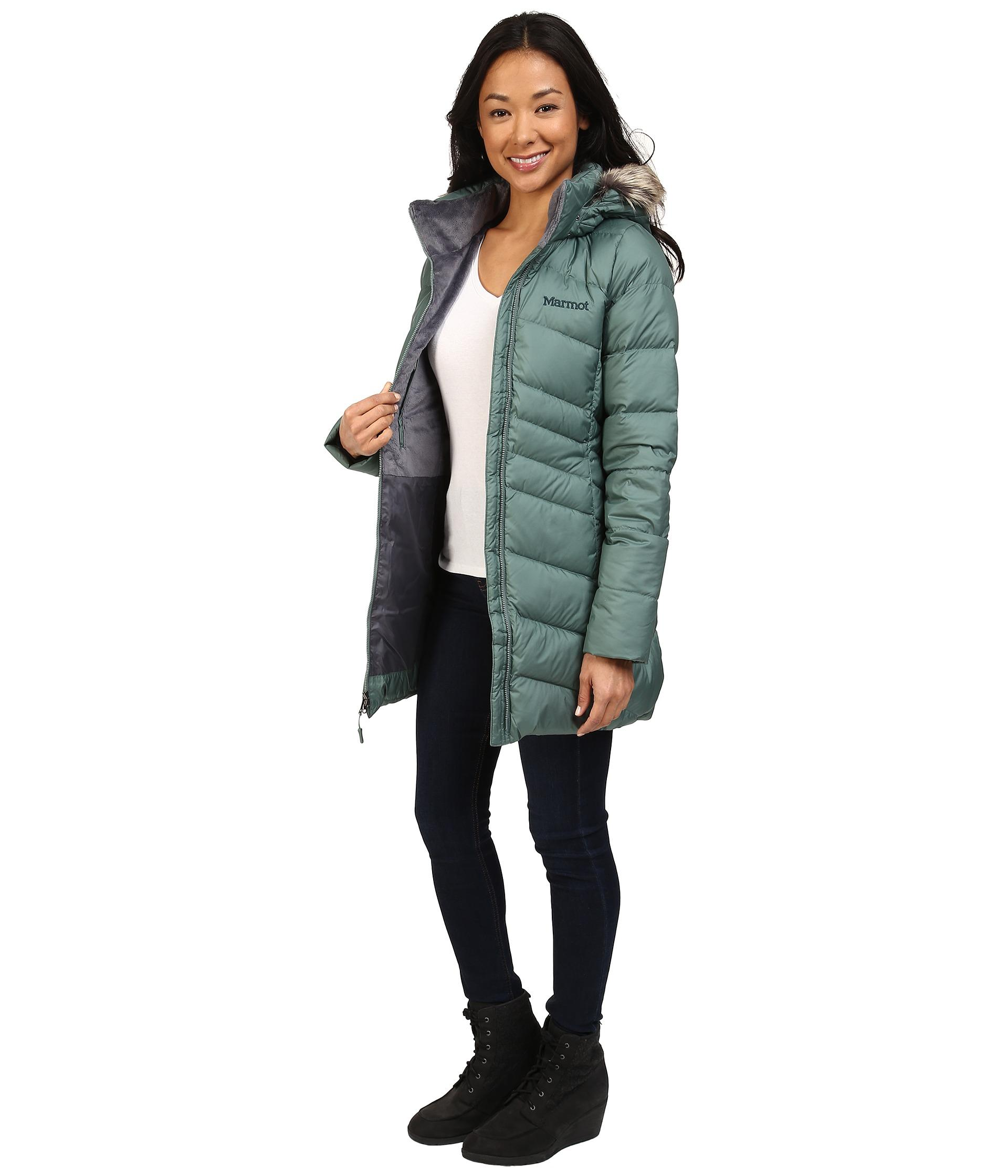 Lyst - Marmot Montreal Coat in Blue eaa4264ad758