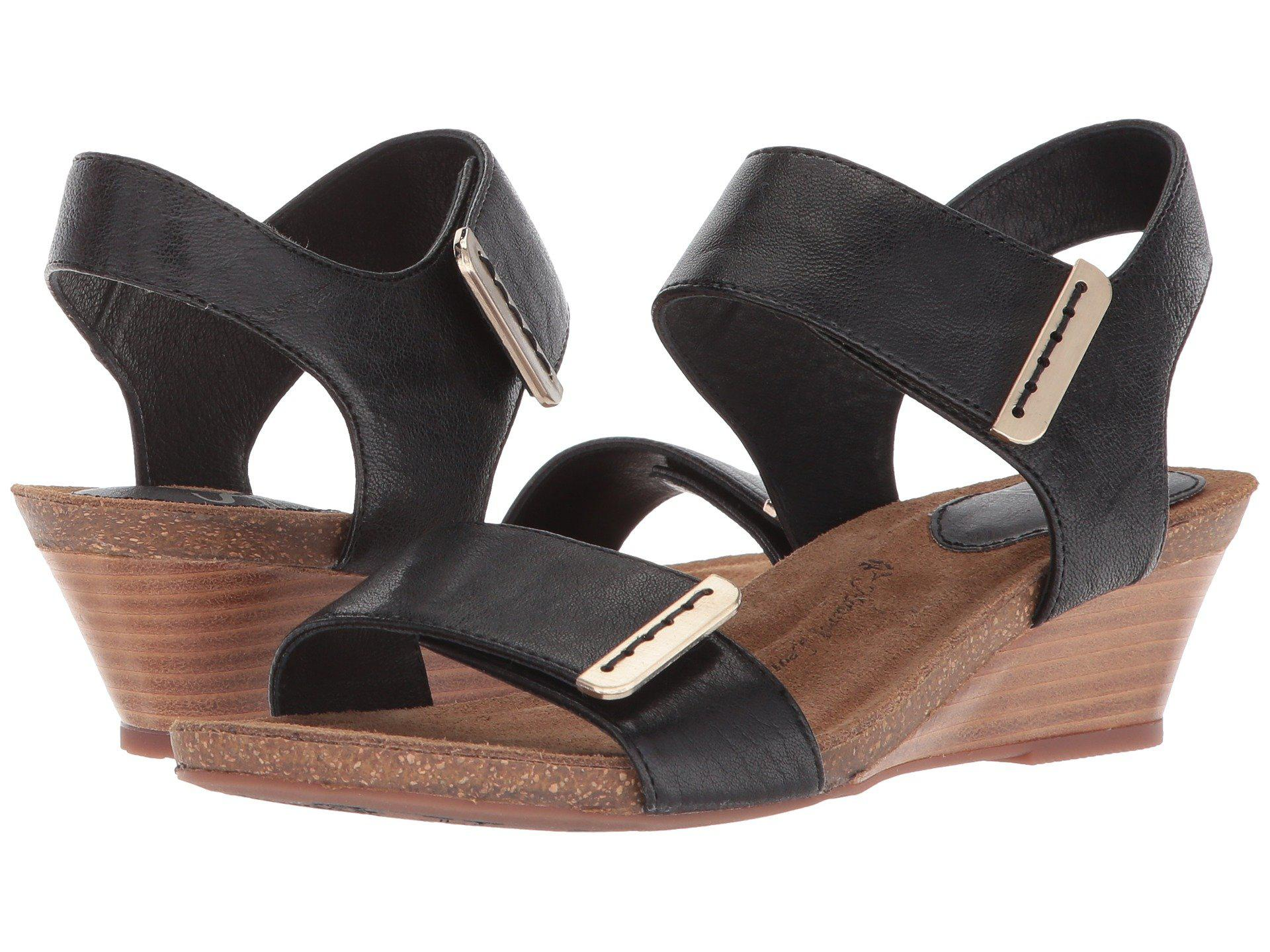 bd5eb8e86fea Lyst - Söfft Verdi (beta Grey Oyster) Women s Wedge Shoes in Black