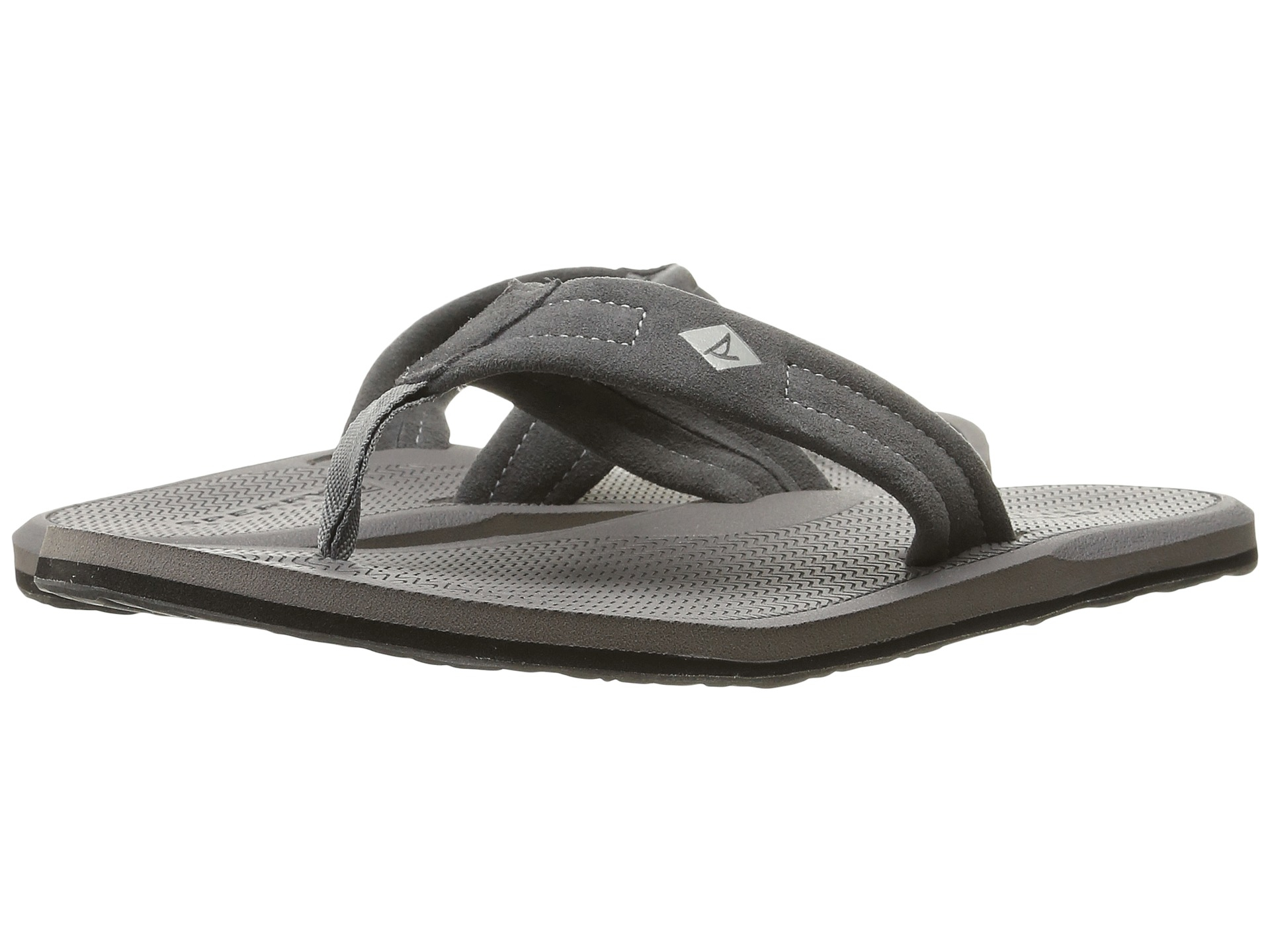 868329f11e47 Lyst - Sperry Top-Sider Sharktooth Thong in Black for Men