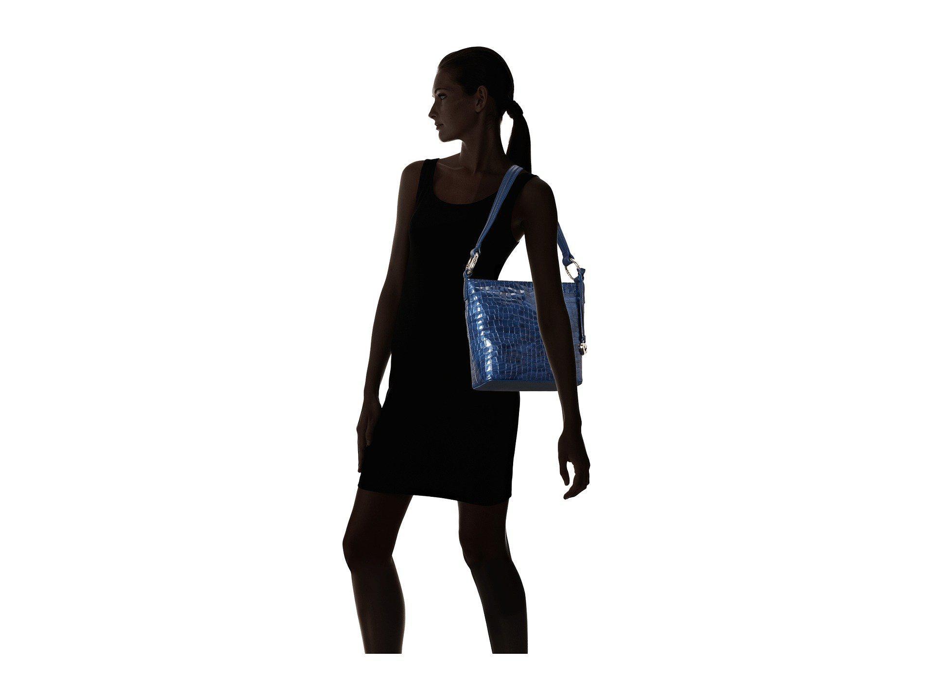 1937ba14a3 Lyst - Brighton Cherie Soft Shoulderbag in Blue