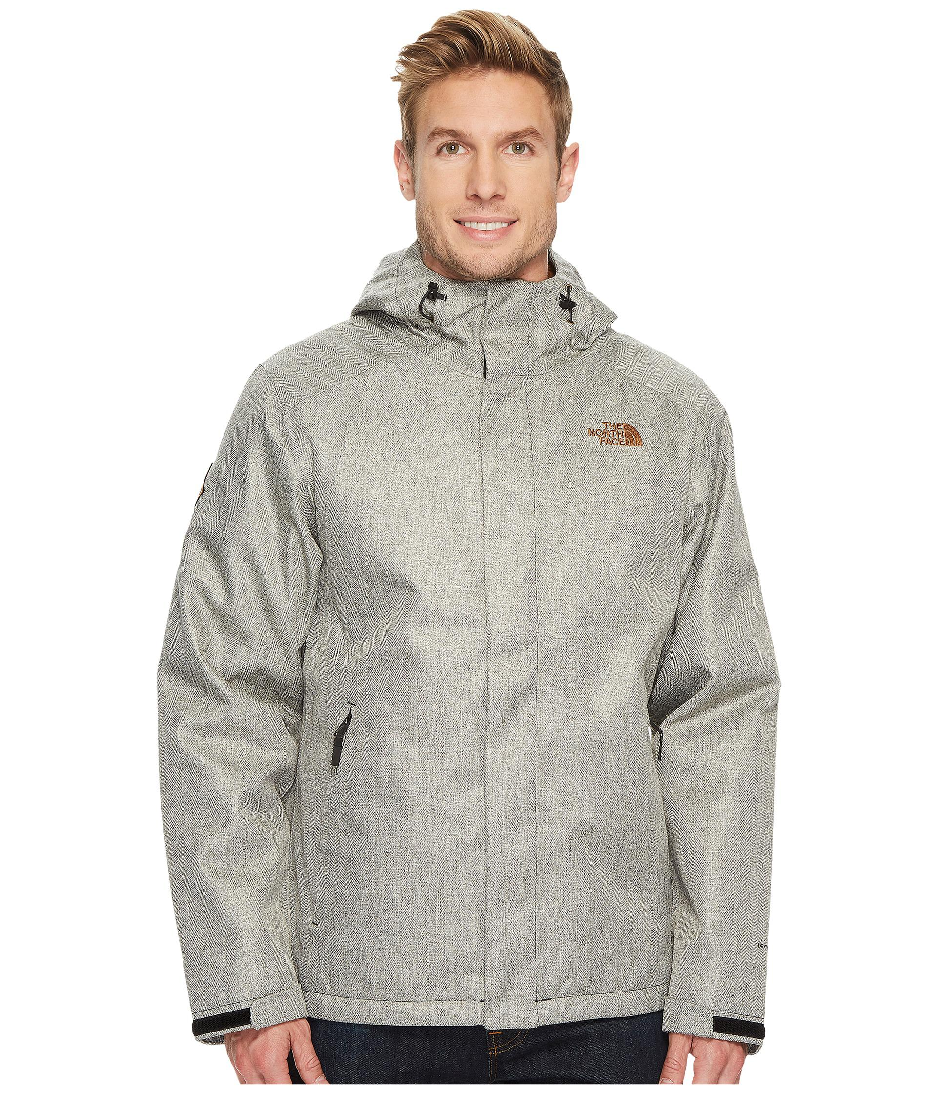 28b3c46a06 ... shop herringbone duffle bag remake jacket the north face inlux  insulated jacket in gray for men ...