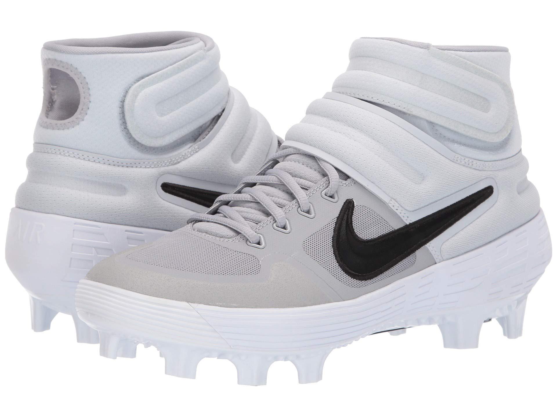 523d657aae9 Nike. Alpha Huarache Elite 2 Mid Mcs (black white) Men s Cleated Shoes