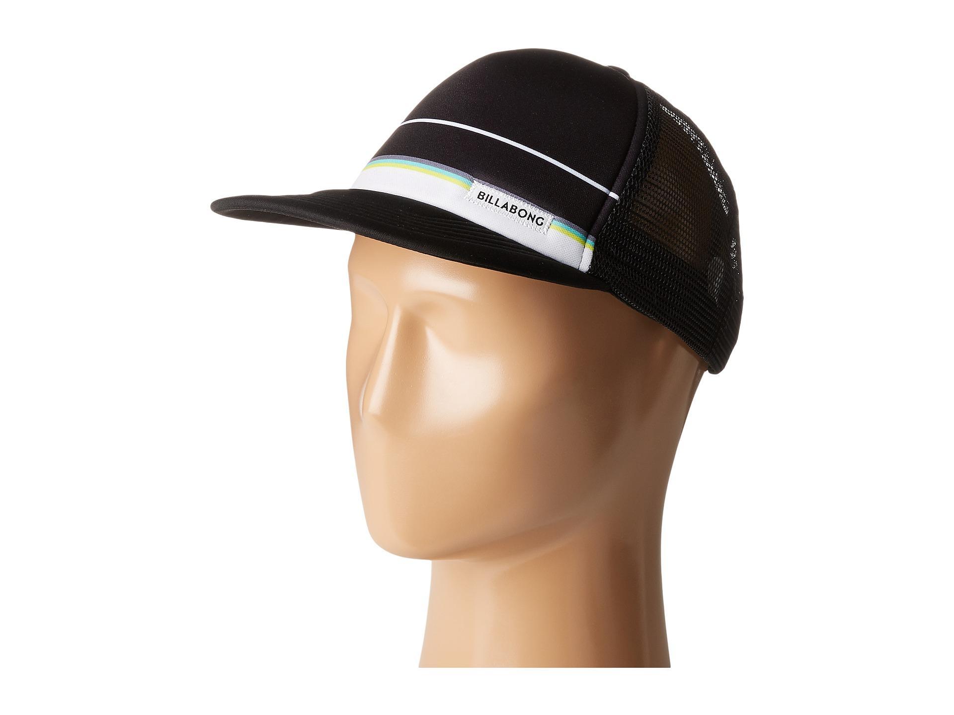 fd86818ad2a6a Lyst - Billabong Spinner Trucker Hat in Black for Men
