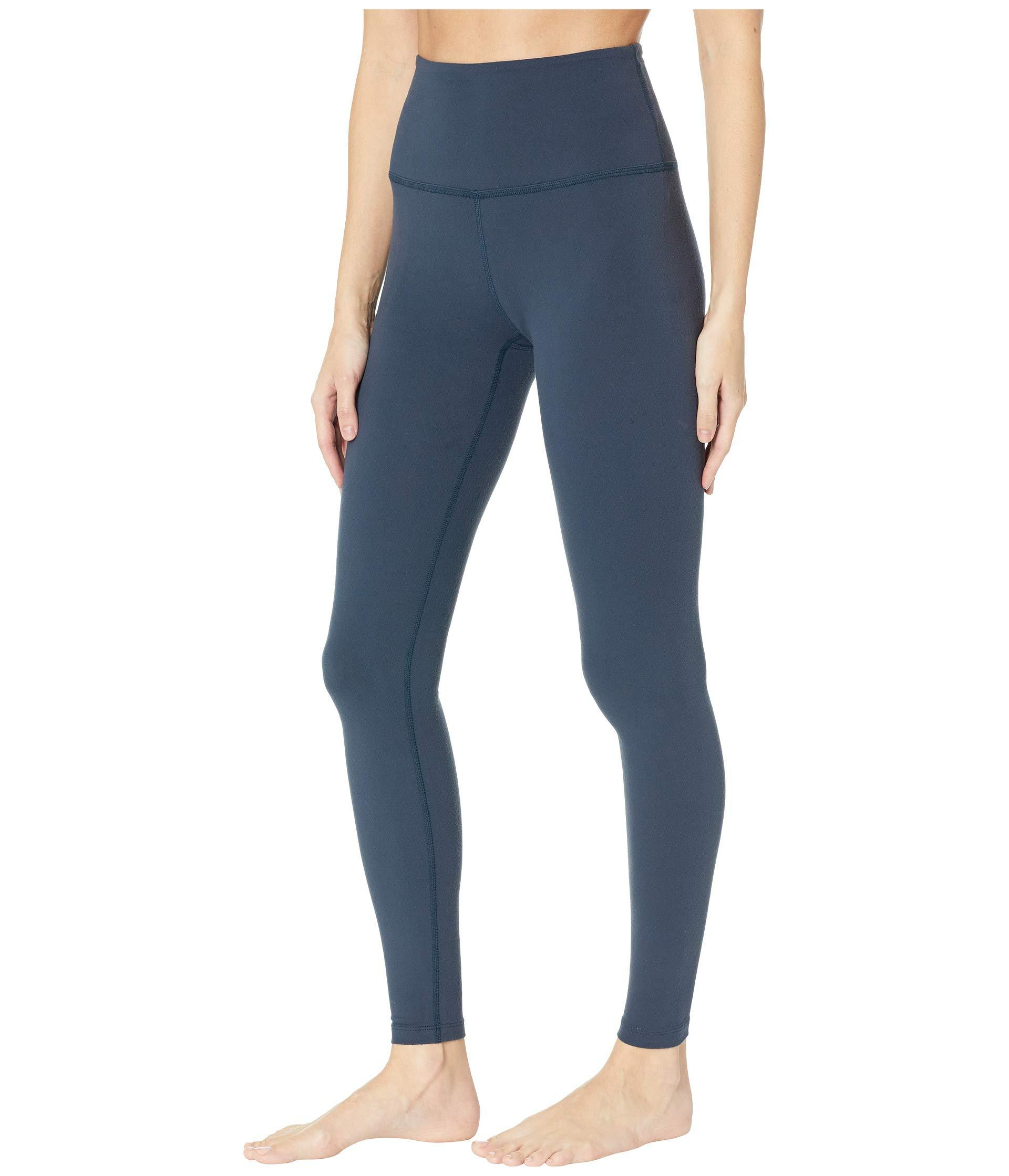 9ddf1198c45697 Lyst - Beyond Yoga High Waist Long Legging (black/navy) Women's Workout in  Blue