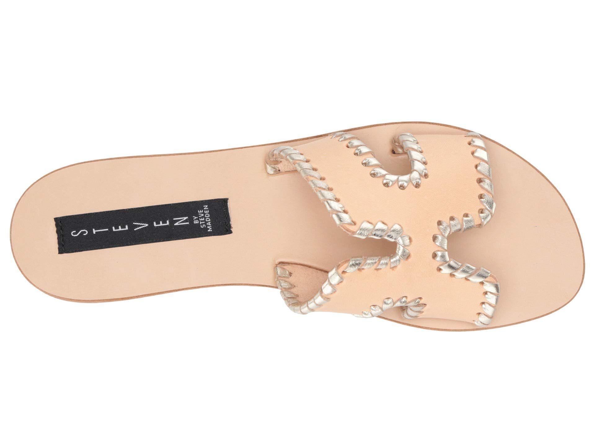 b58c7228feb Steven by Steve Madden - Multicolor Greece-m (white Multi) Women s Sandals  -. View fullscreen