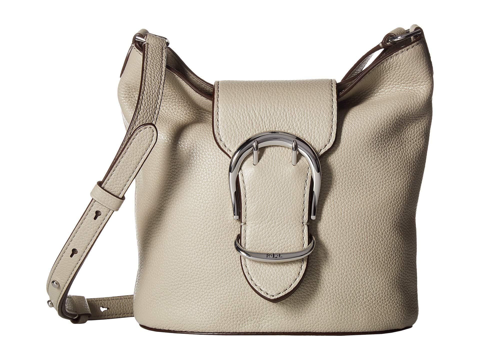 620d7b5ceb Lyst - Lauren By Ralph Lauren Cornwall Bucket Bag (black) Handbags ...