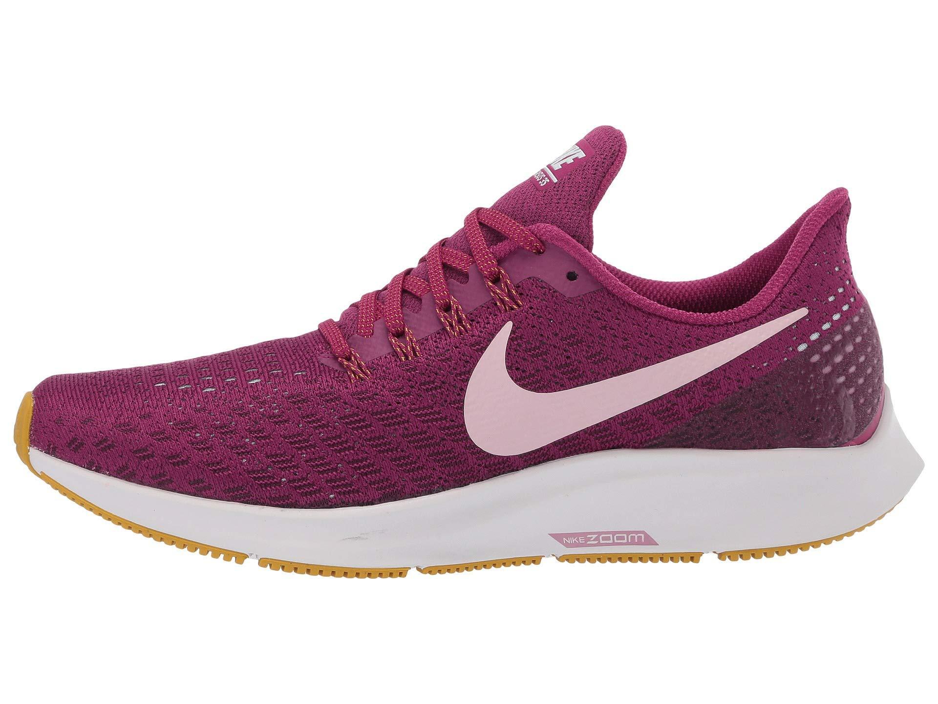 e77423331e032 Lyst - Nike Air Zoom Pegasus 35 (vast Grey black pink Foam lime Blast) Women s  Running Shoes in Purple - Save 30%