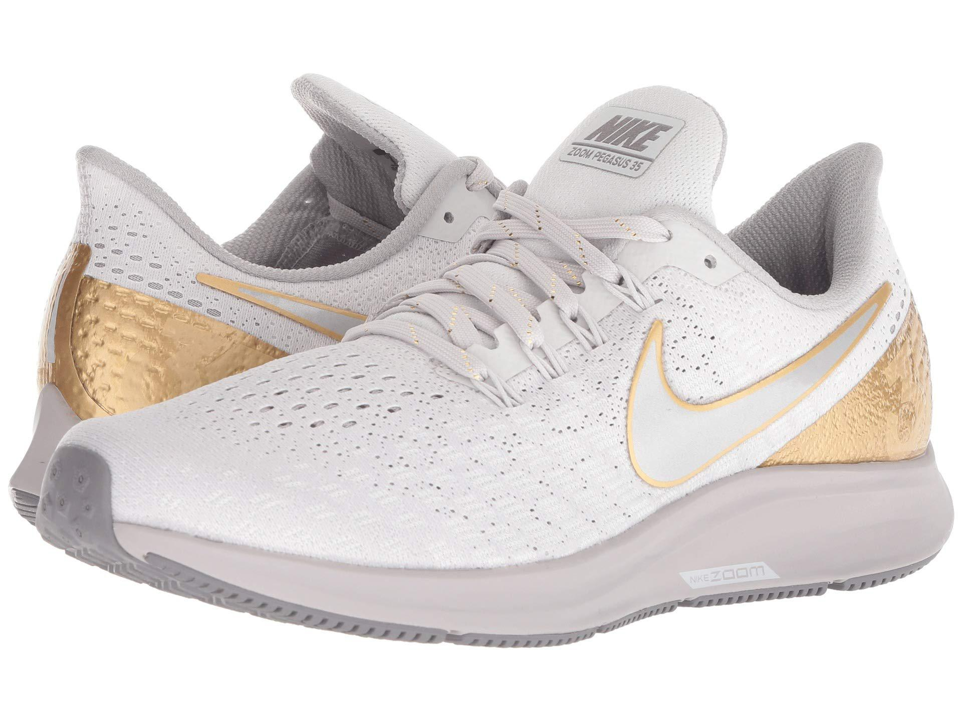 1f355ed0eaba7 Lyst - Nike Air Zoom Pegasus 35 Premium (vast Grey metallic Platinum ...