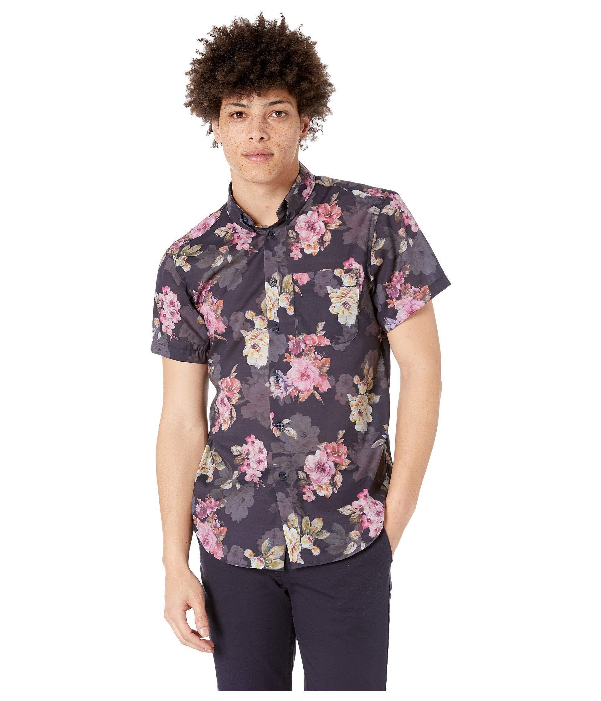 9531f20f7c Naked   Famous. Blue Short Sleeve Easy Shirt (kimono Chon indigo) Men s  Clothing