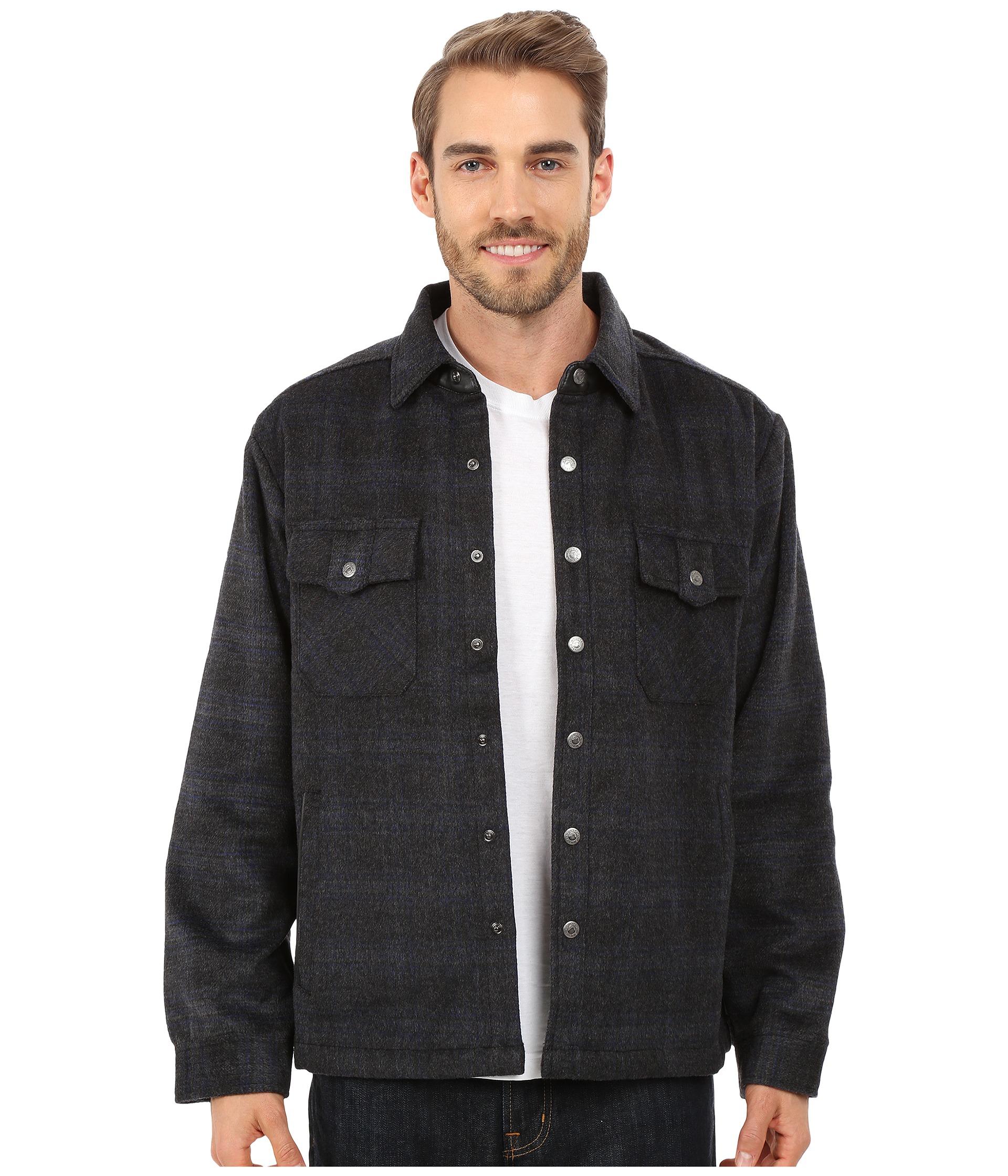 Mountain khakis Sportsman's Shirt Jacket in Black for Men | Lyst