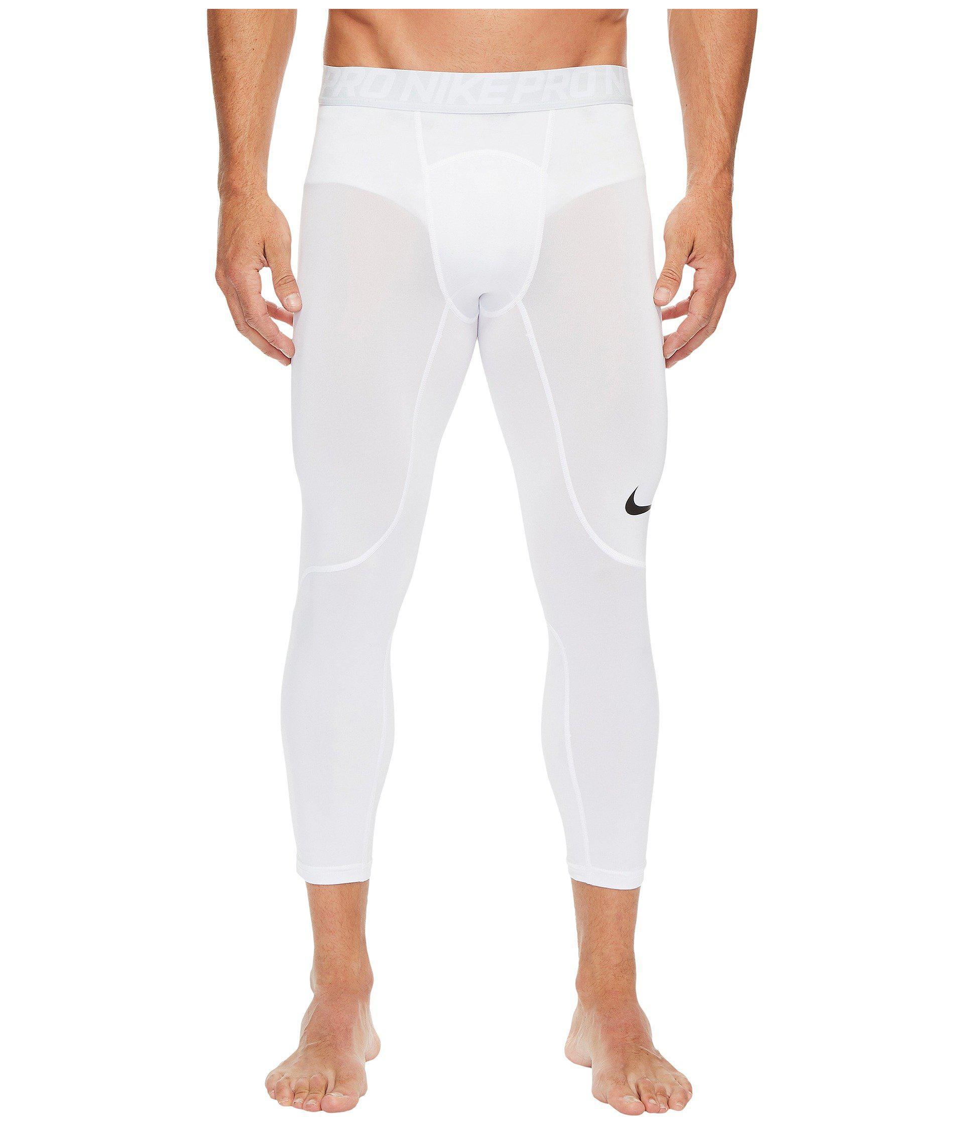 Lyst - Nike Pro Tight (carbon Heather dark Grey black) Men s Casual ... e810d6ed6