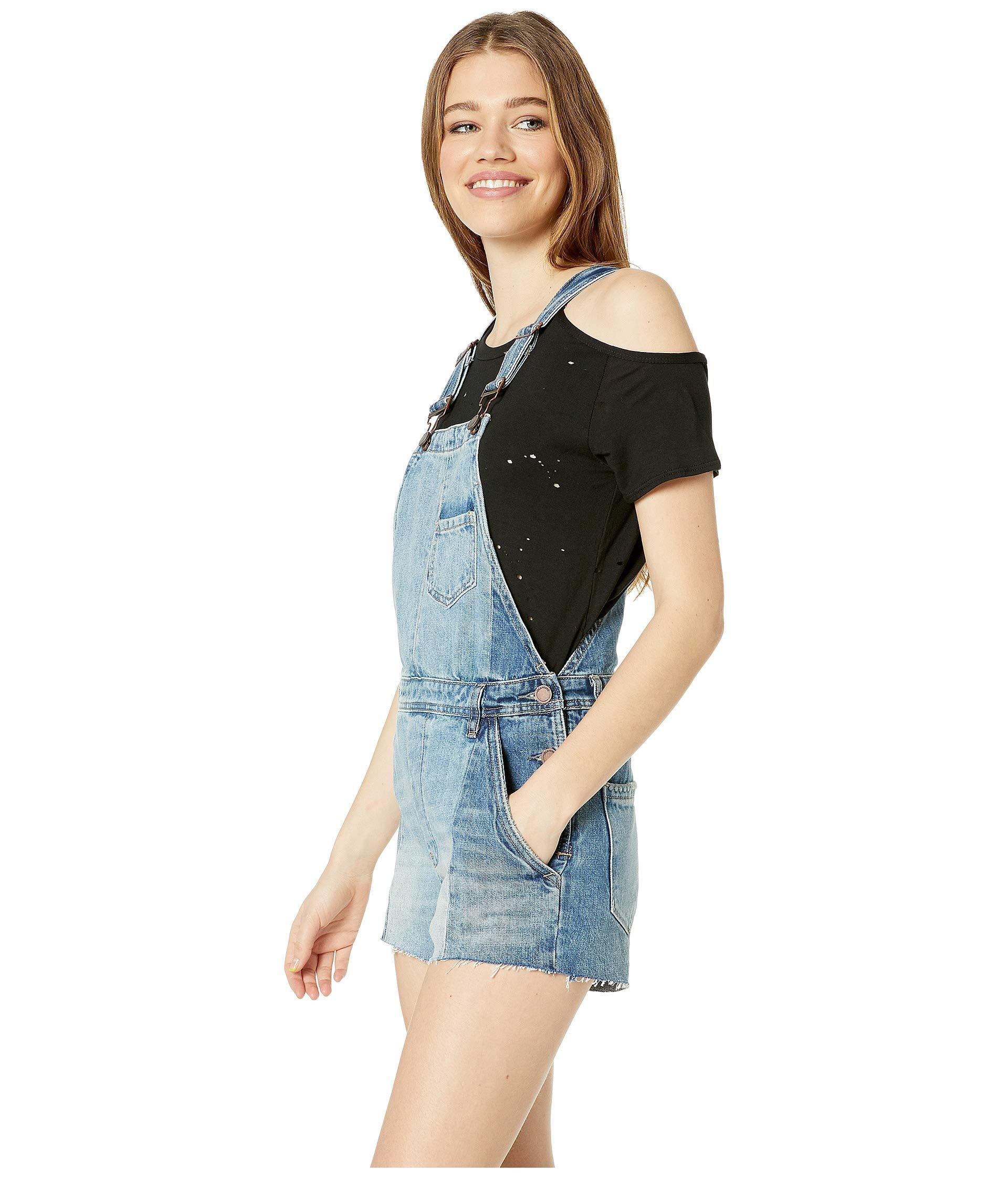 0b746e96ba3d Lyst - Blank NYC Denim Overalls In Kingpin (kingpin) Women s Overalls One  Piece in Blue