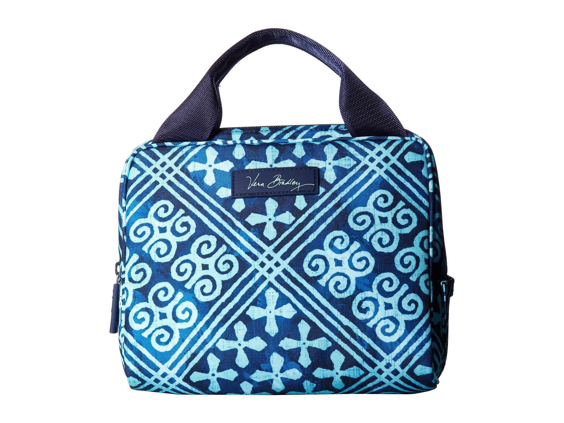 Lyst vera bradley lighten up lunch cooler in blue jpg 1920x1440 Cuban tiles  lunch sack 1c7175a0686ff