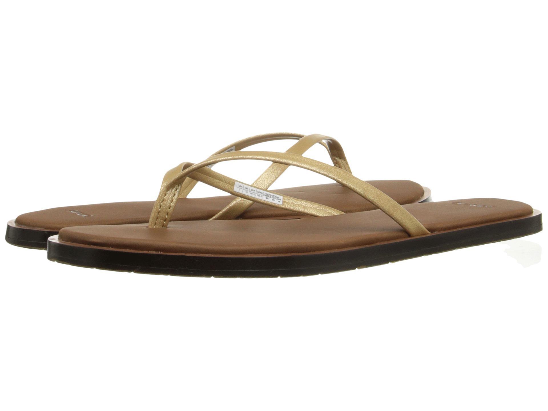 Sandals Sanuk Yoga Aurora Glow Gold