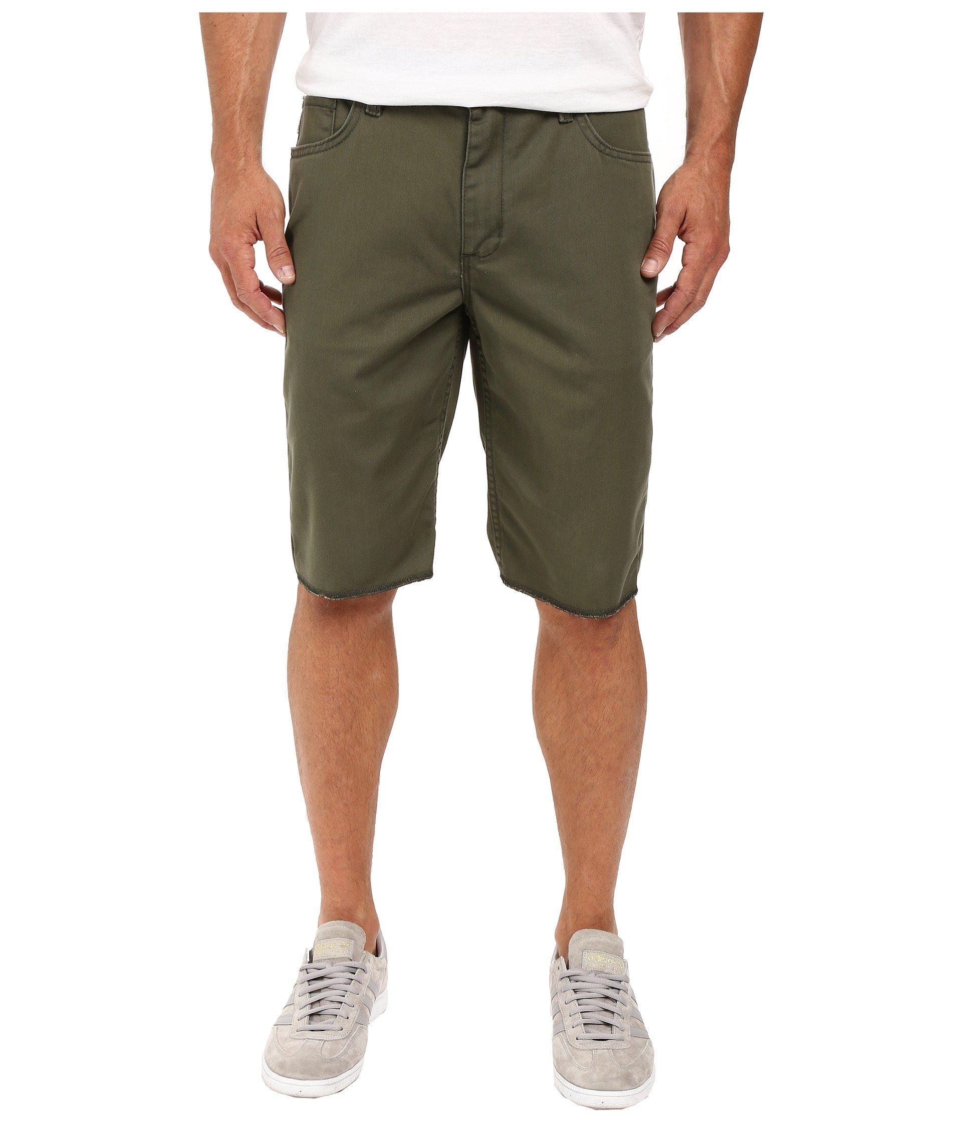 54df733d2be9da Lyst - Vans Av Covina Shorts Ii (new Charcoal) Men s Shorts in Green ...