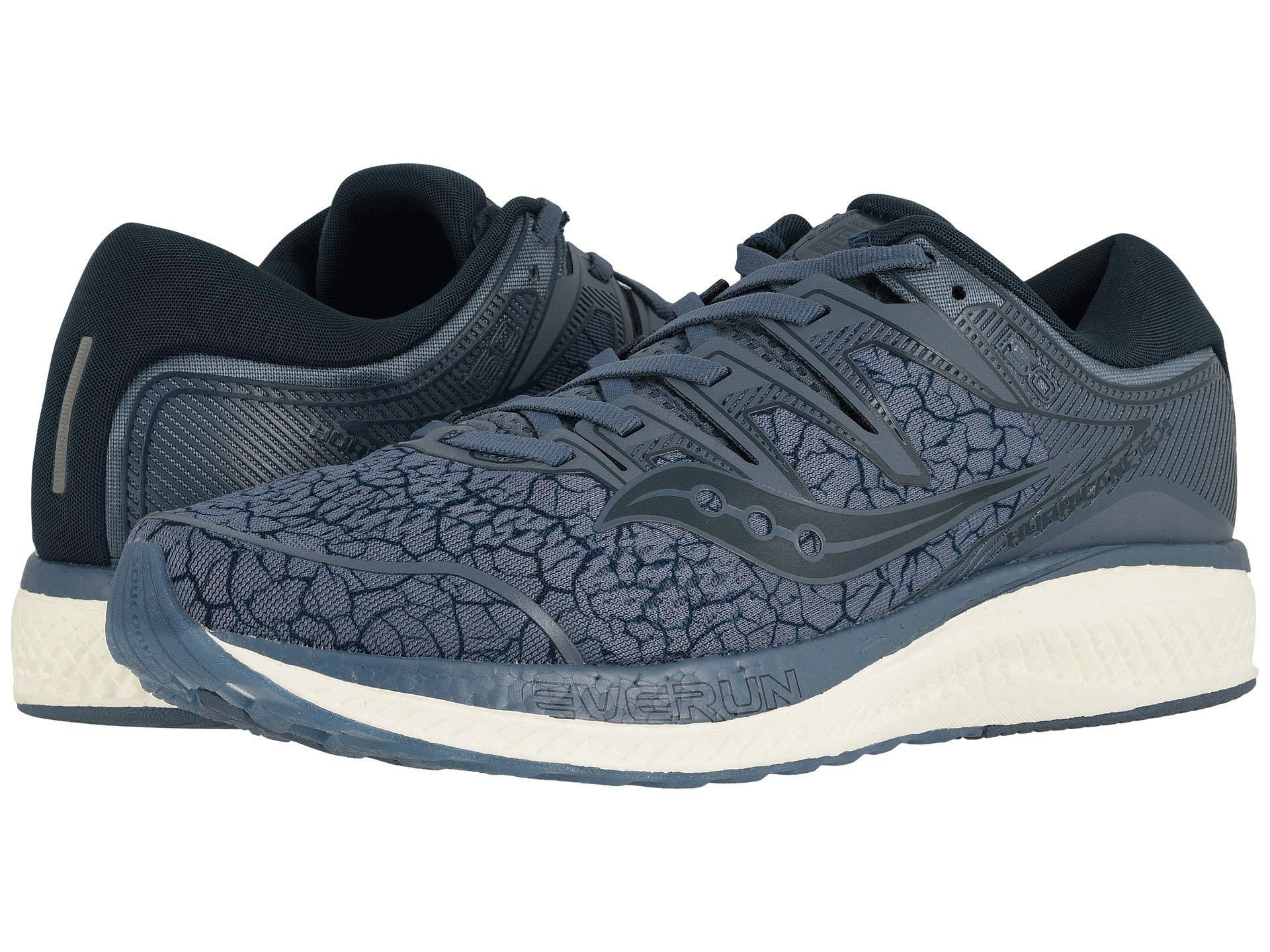 11011e6126 Saucony Hurricane Iso 5 (slate Quake) Men's Shoes in Blue for Men - Lyst