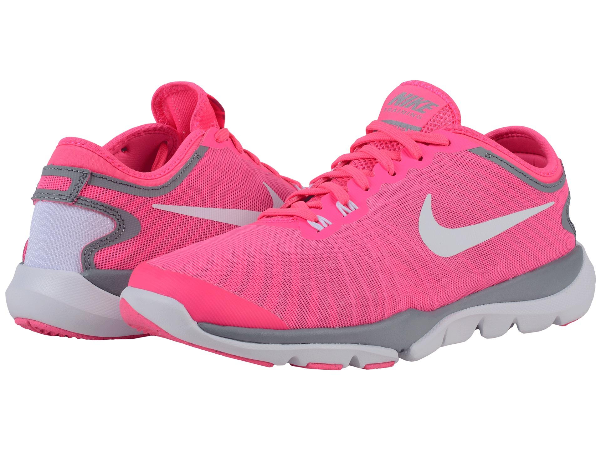 00ca92324dc8c Lyst - Nike Flex Supreme Tr4 in Pink