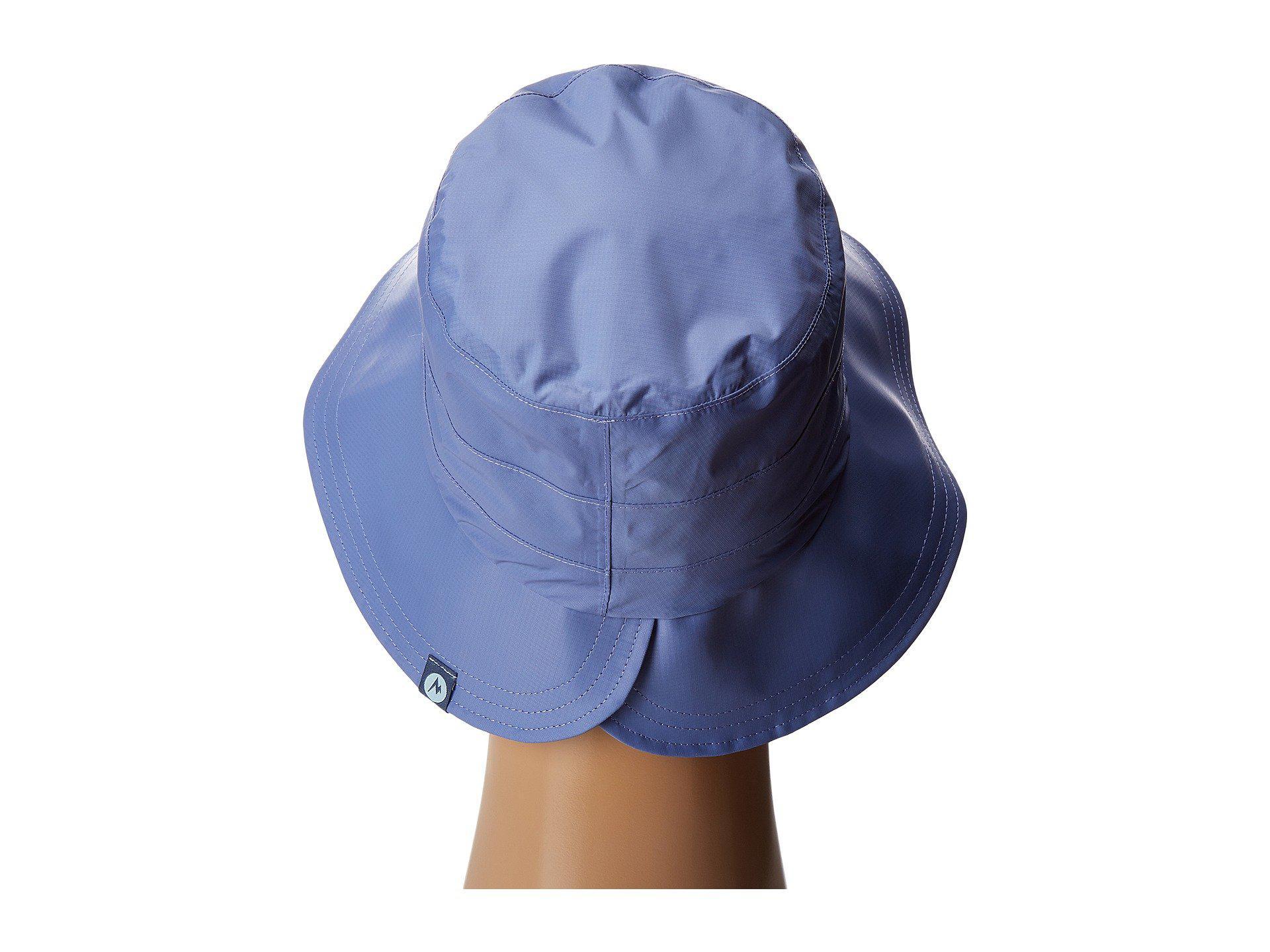 Lyst - Marmot Preclip(r) Petal Hat (dusty Denim) Bucket Caps in Blue e508350274b