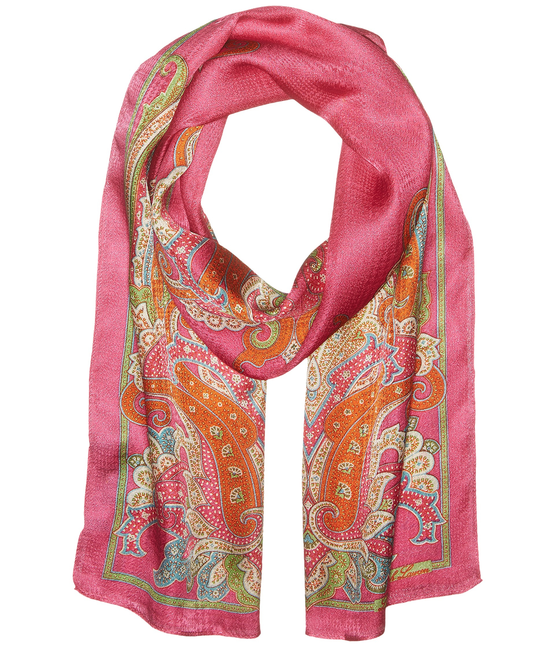 how to print pictures from iphone by ralph mariana scarf in pink lyst 18948