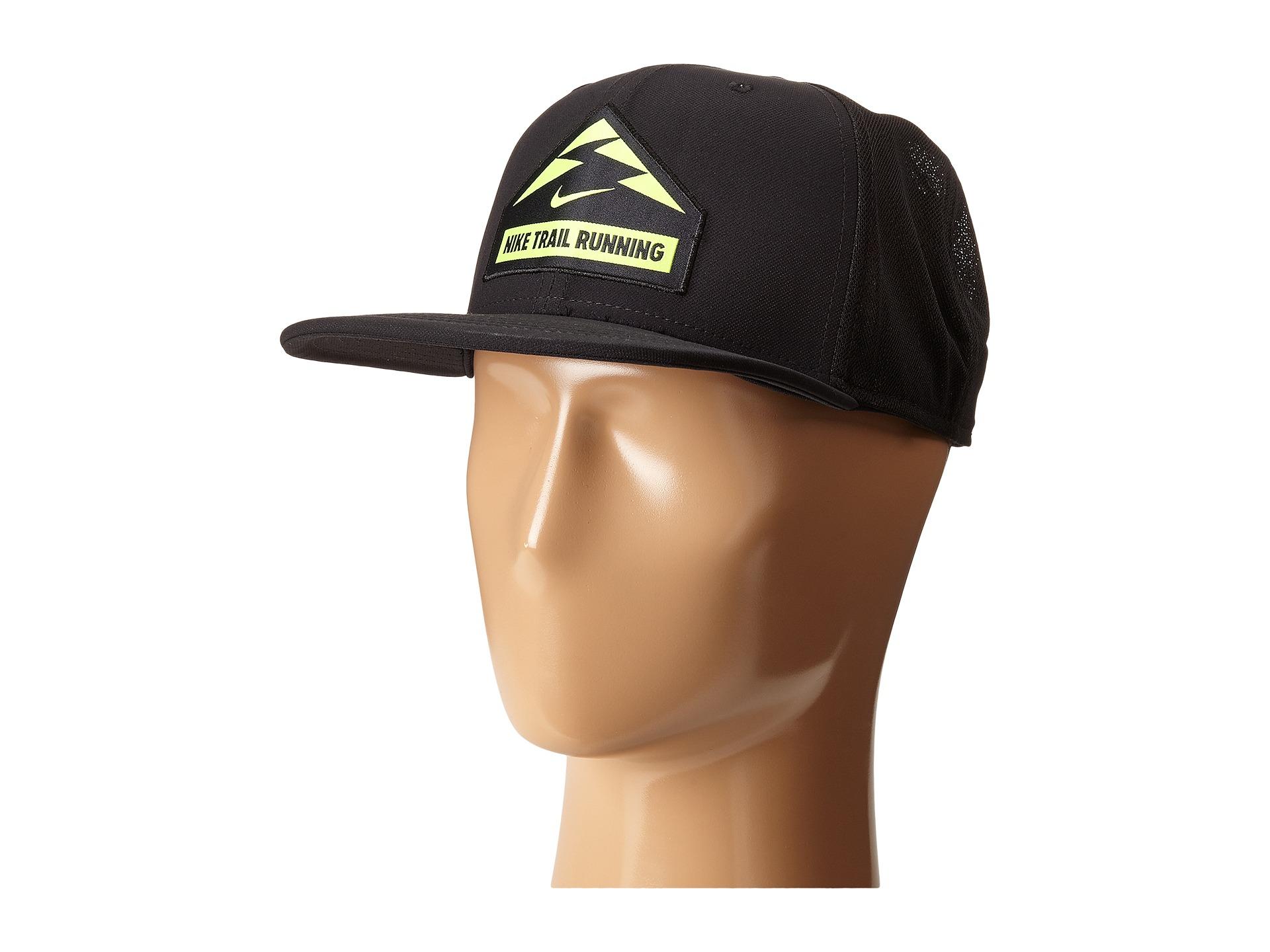 c93efec51fb Lyst - Nike Trail Run Trucker Hat in Black for Men