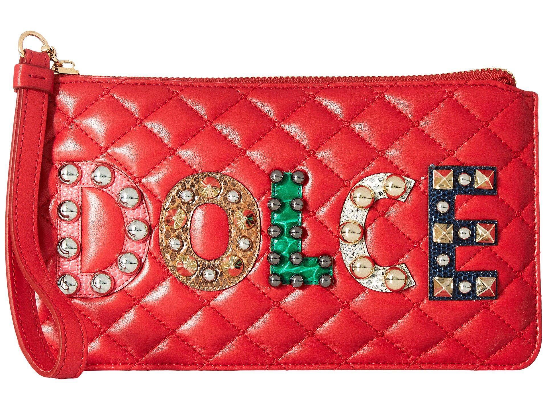 logo studded quilted purse Dolce & Gabbana TnDli