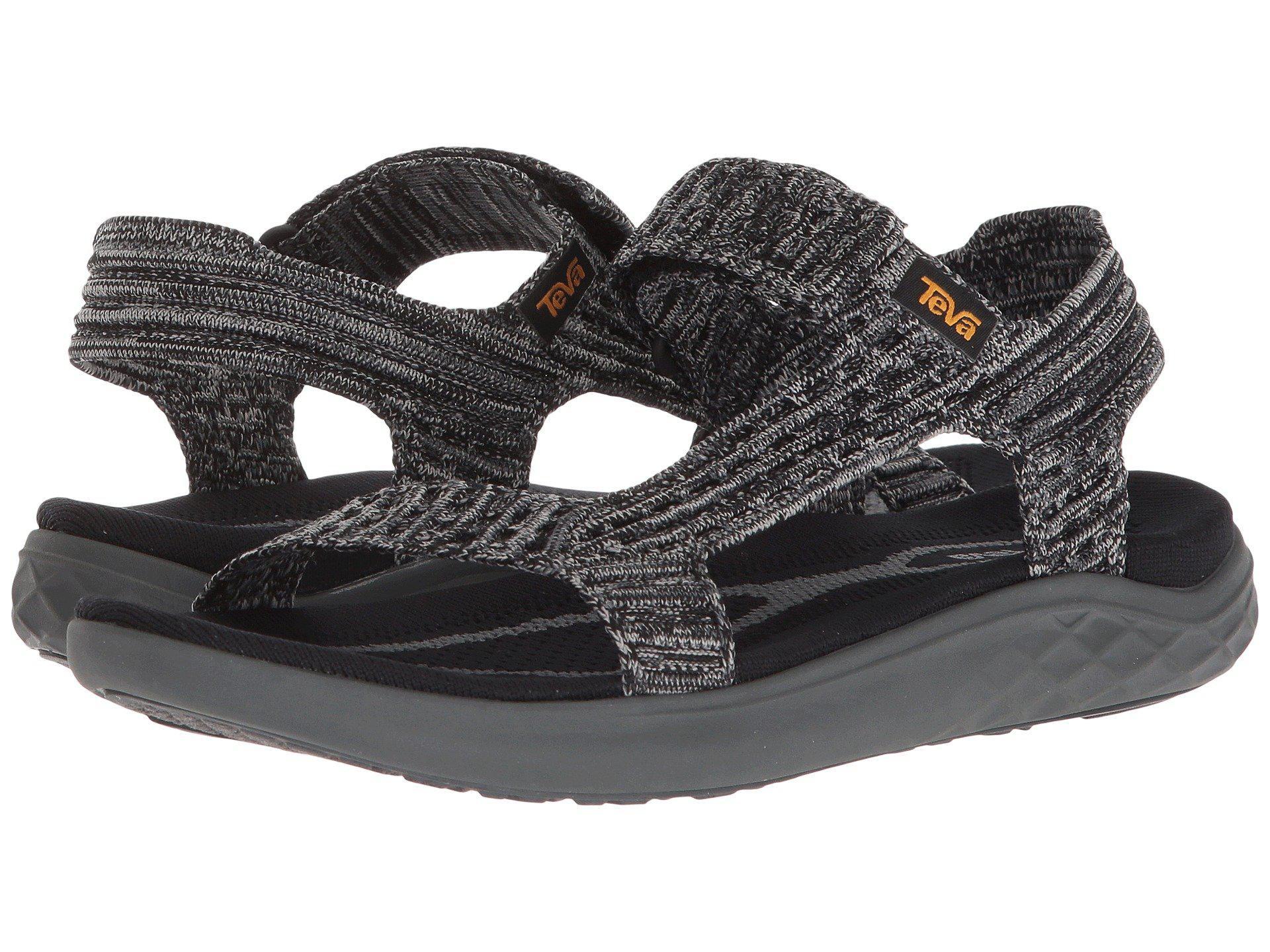 b5c88cb940bb Lyst - Teva Terra-float 2 Knit Universal (black grey) Women s Shoes ...