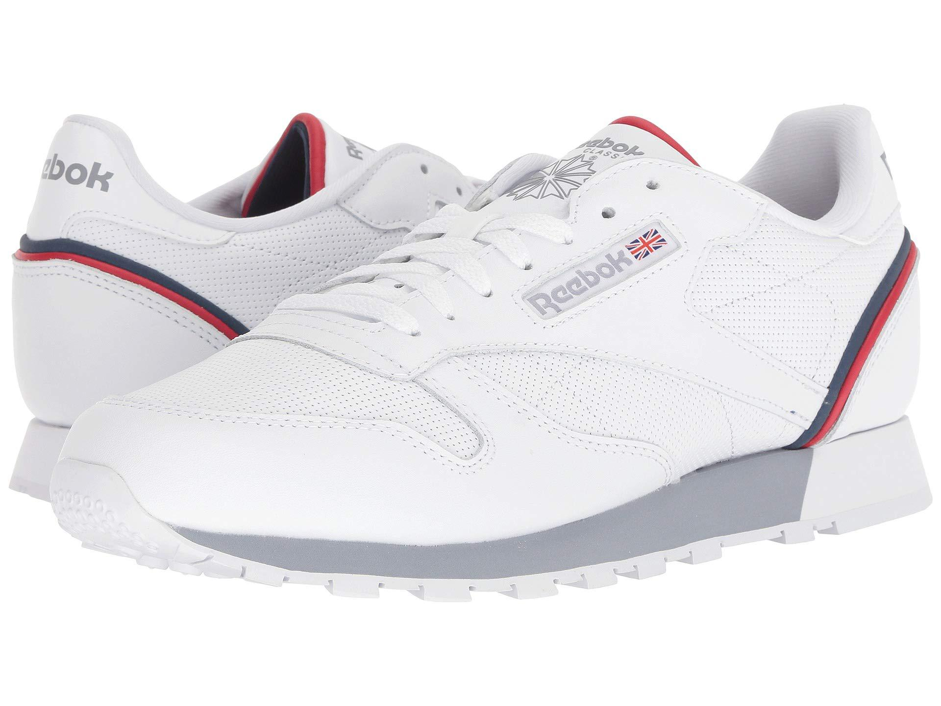eb55792a482 Lyst - Reebok Classic Leather Sneaker in White for Men