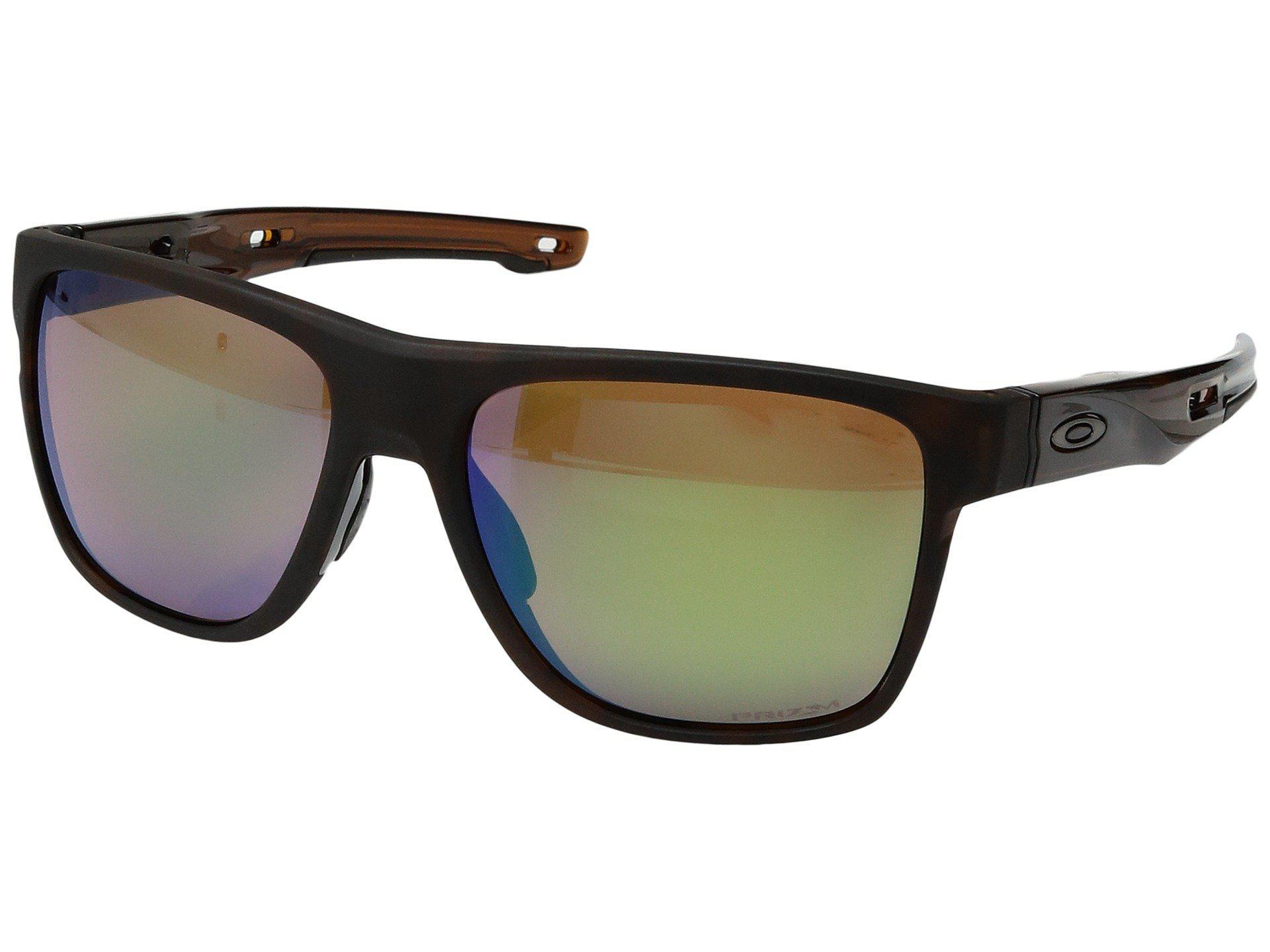 0a8353fb06943 Oakley Crossrange Xl (polished Black W  Prizm Golf) Fashion ...