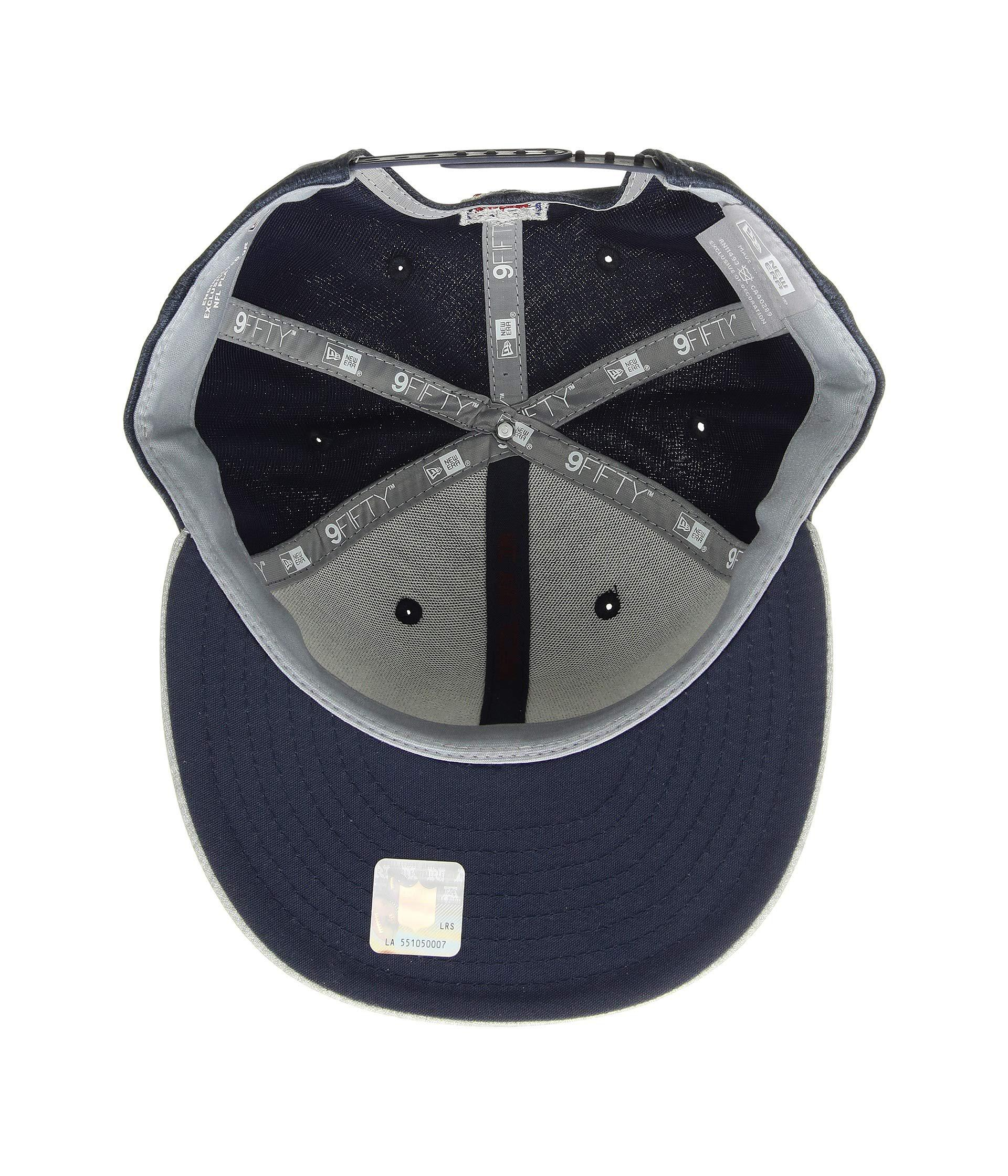 Lyst - Ktz 9fifty Official Sideline Away Snapback - Houston Texans  (grey blue) Caps in Blue for Men 652f47d93061